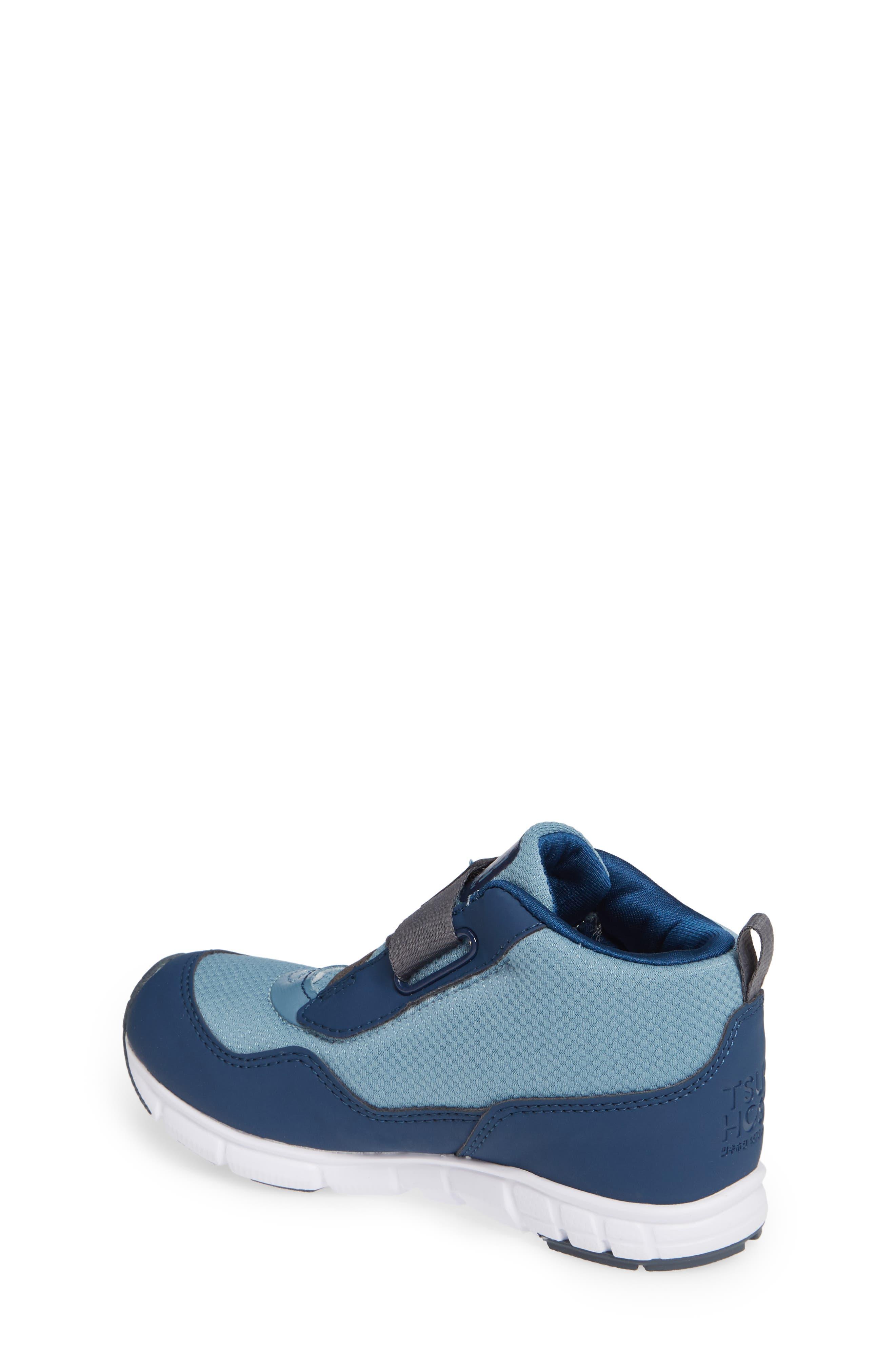 TSUKIHOSHI, Tokyo Waterproof Sneaker, Alternate thumbnail 2, color, NAVY/ SEA