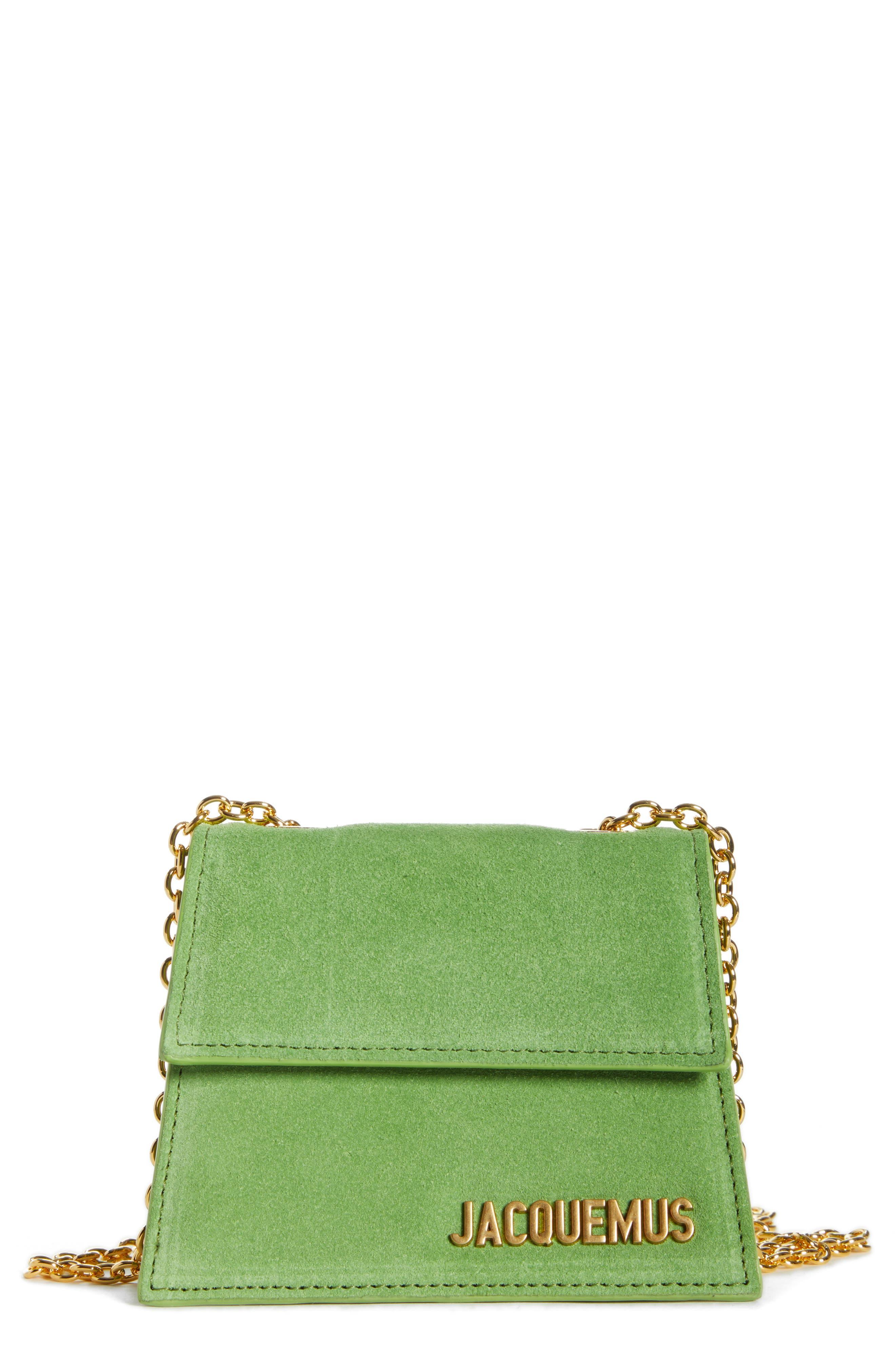 JACQUEMUS Le Piccolo Leather Crossbody Bag, Main, color, 300