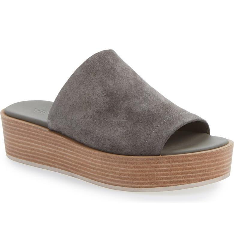 e6ed22042ee Vince  Saskia  Platform Leather Sandal (Women)
