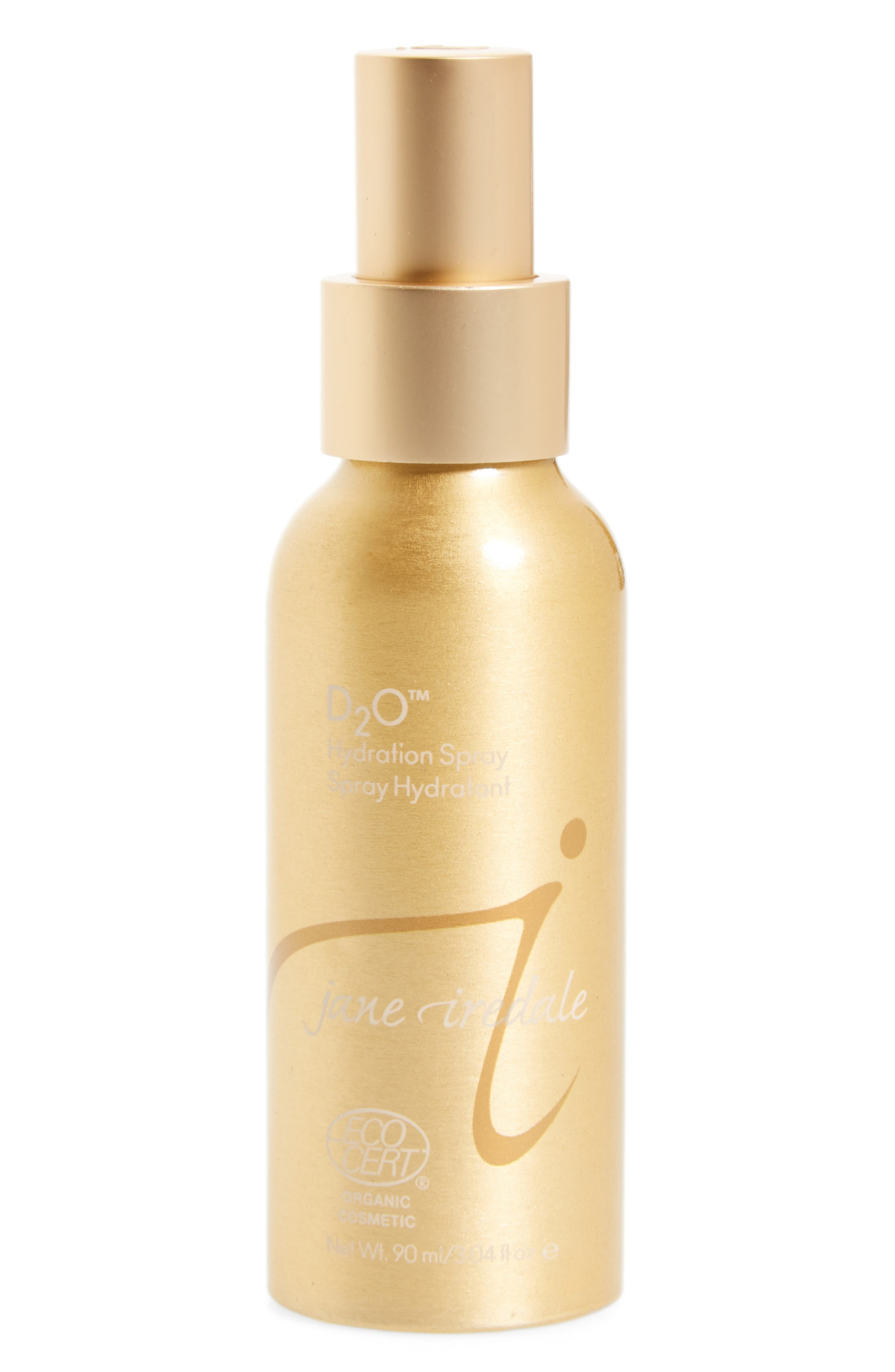 JANE IREDALE D2O<sup>™</sup> Hydration Spray, Main, color, GOLD