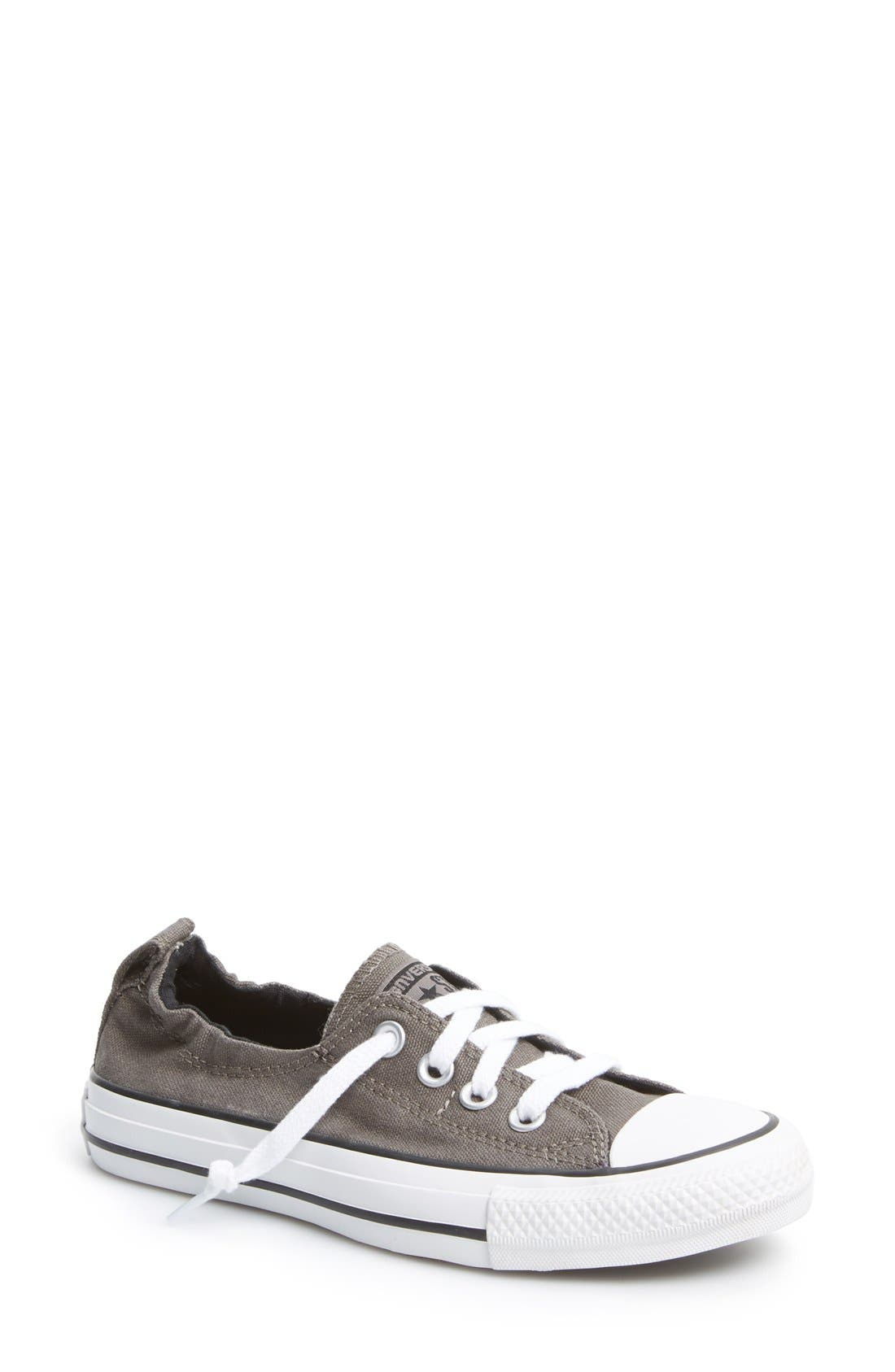 CONVERSE, Chuck Taylor<sup>®</sup> All Star<sup>®</sup> Shoreline Low Top Sneaker, Main thumbnail 1, color, 050