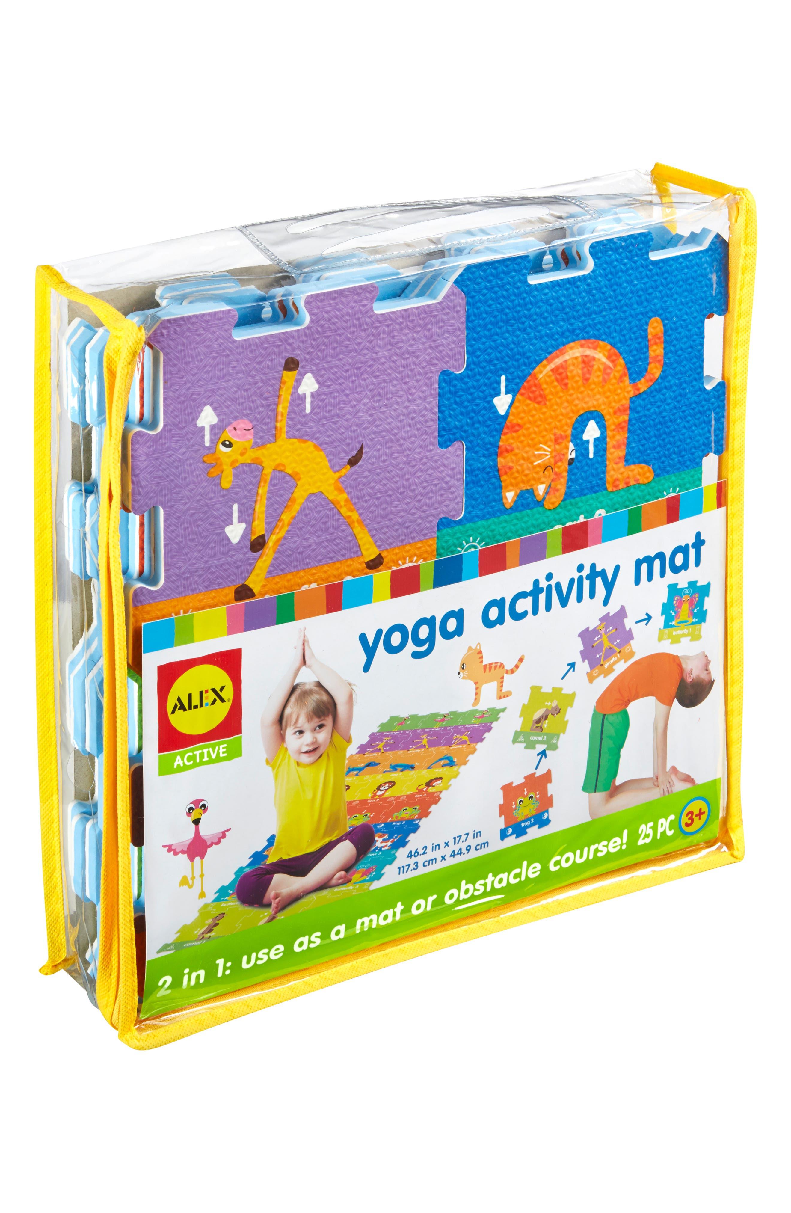 ALEX<SUP>®</SUP> TOYS, Yoga Activity Mat, Alternate thumbnail 5, color, 960