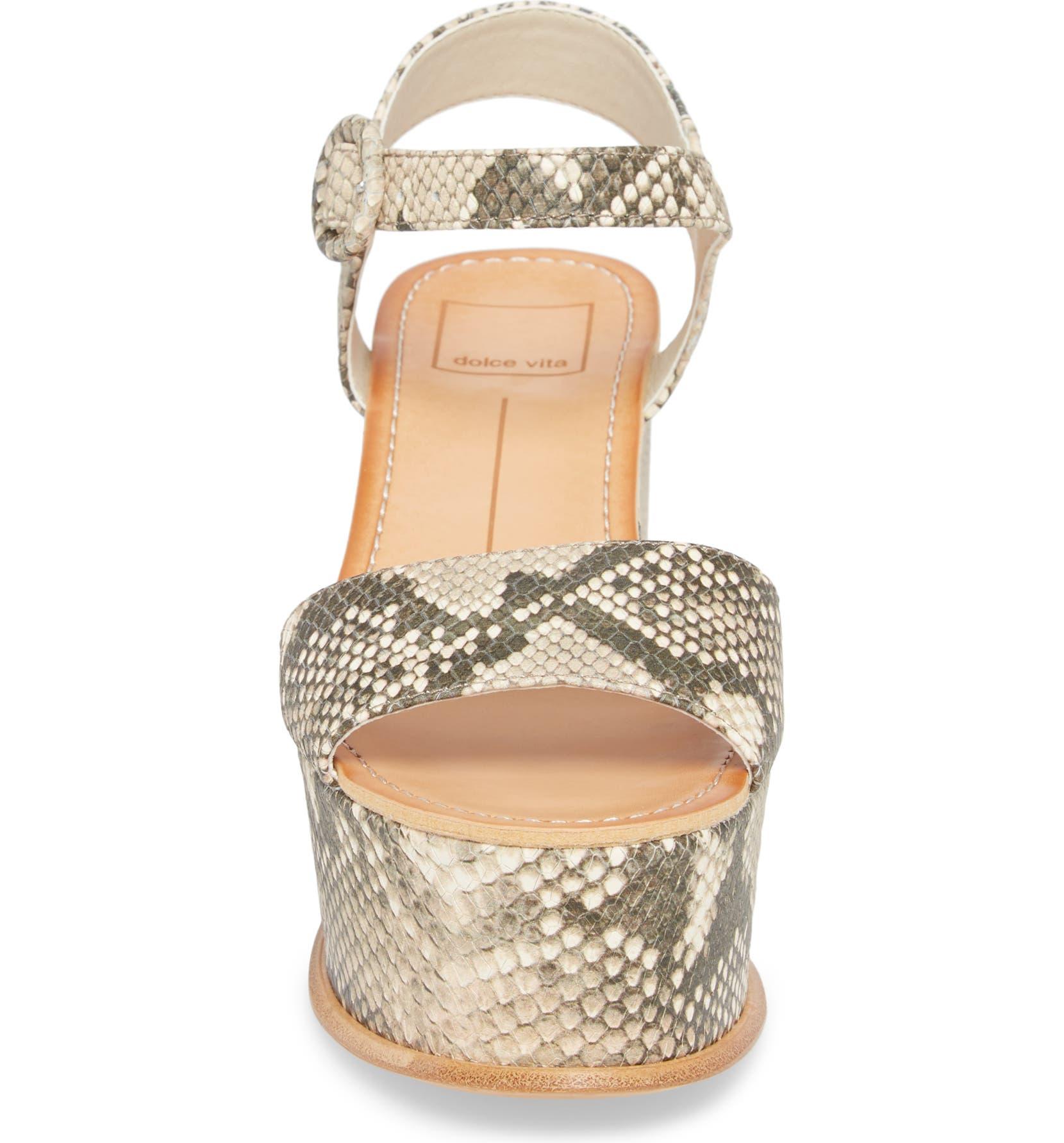 e4c0fa4a24e Dolce Vita Datiah Platform Wedge Sandal (Women)