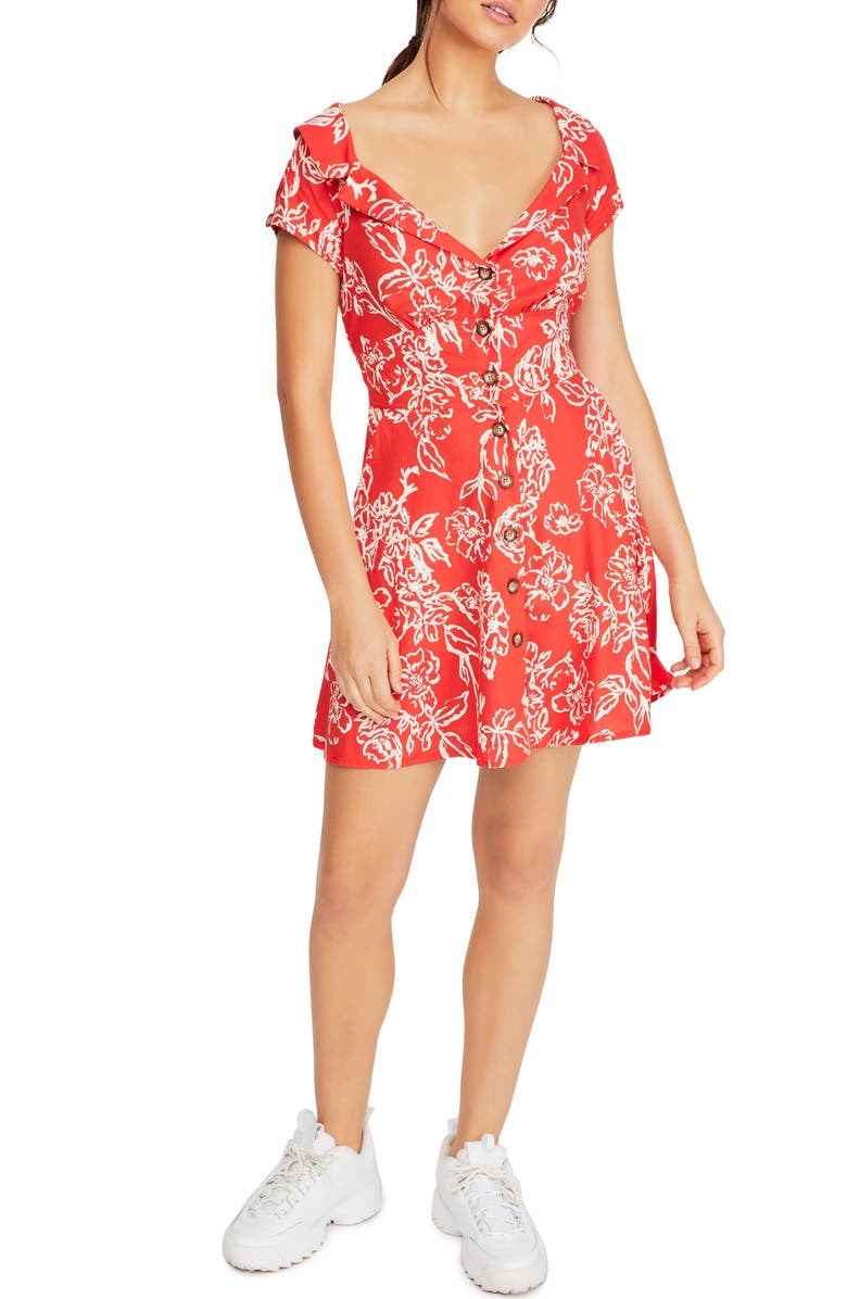 Free People Dresses A THING CALLED LOVE MINIDRESS