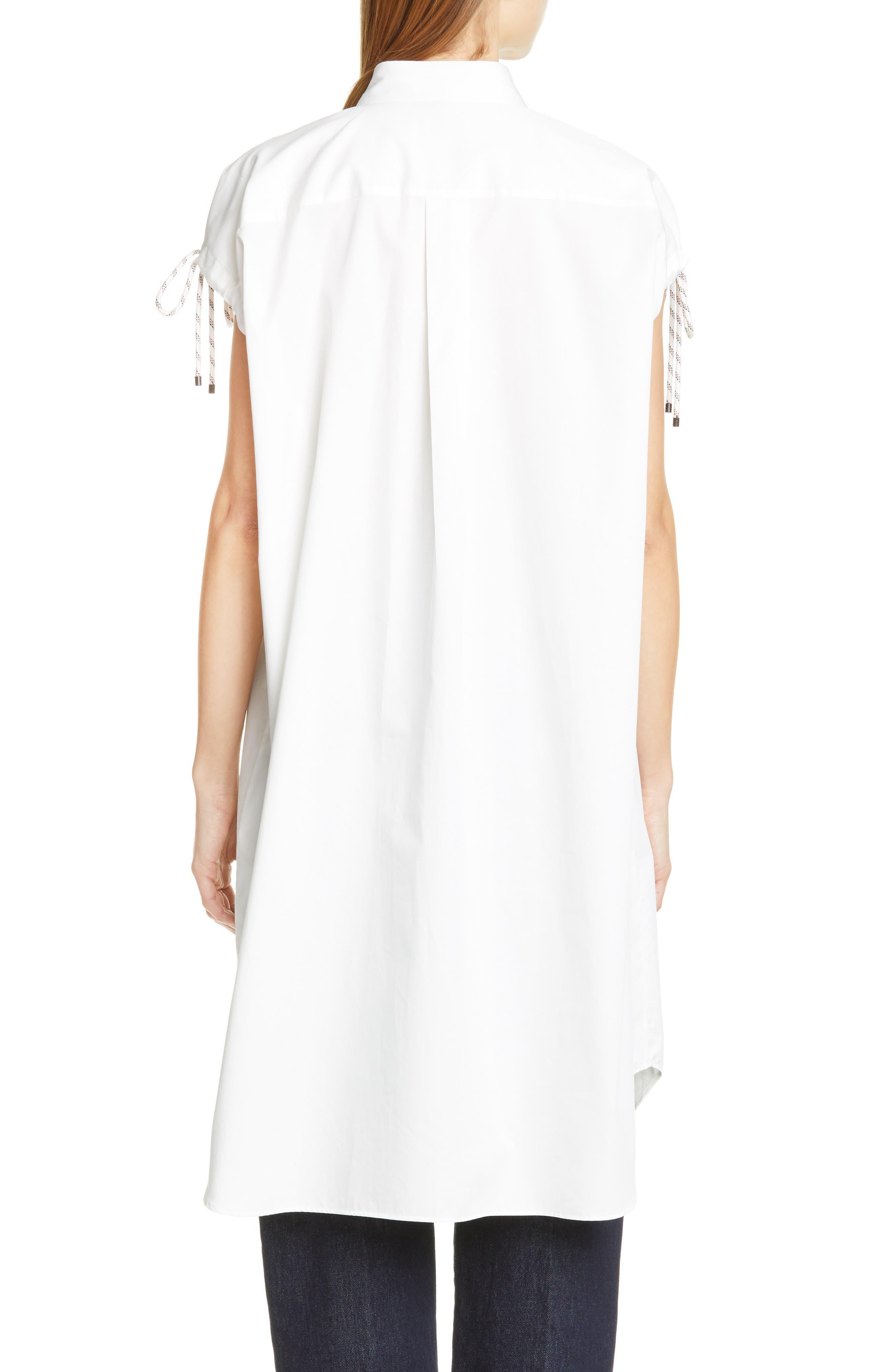 DRIES VAN NOTEN, Dantia Floral Print Cotton Shirt, Alternate thumbnail 2, color, LILAC