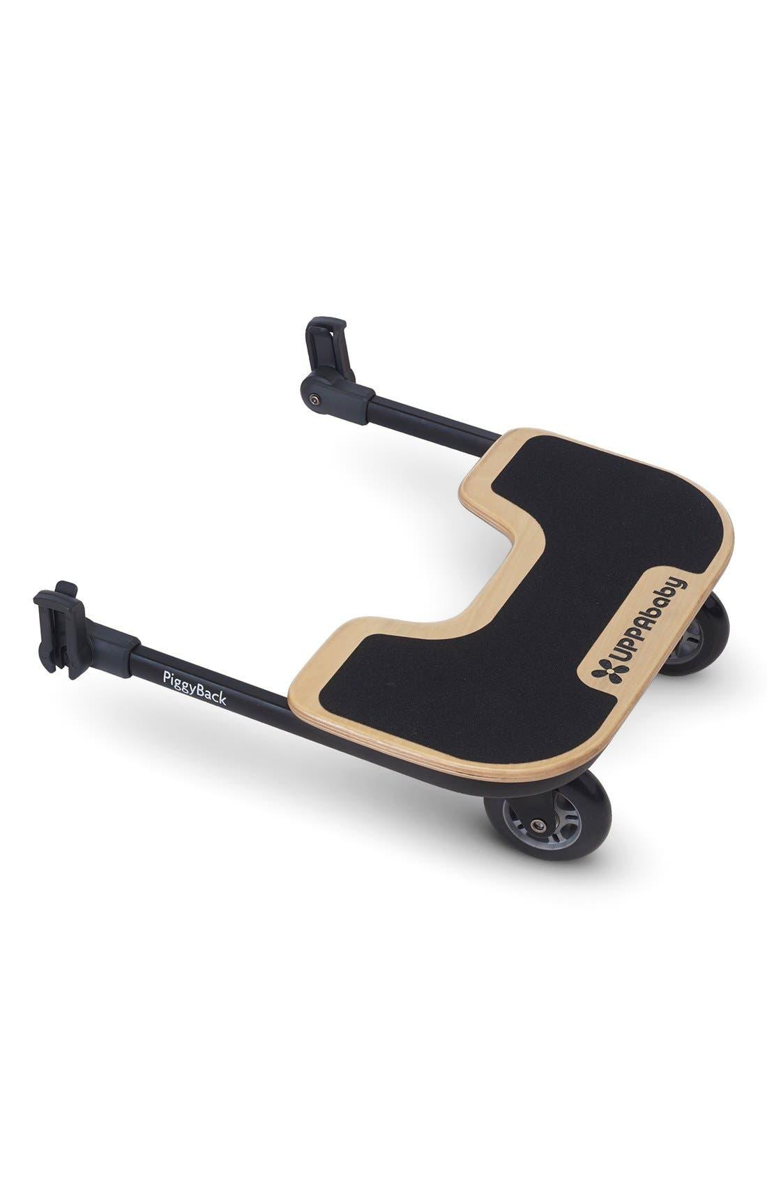 UPPABABY CRUZ<sup>®</sup> Stroller PiggyBack Ride-Along Board, Main, color, black