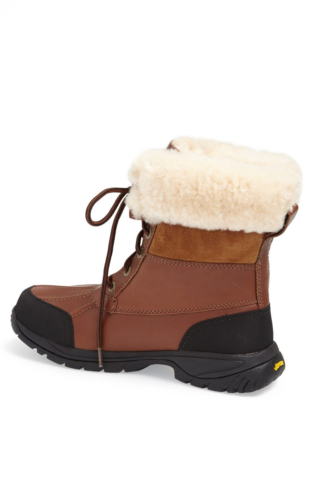 UGG<SUP>®</SUP>, Butte Waterproof Boot, Alternate thumbnail 2, color, WORCHESTER