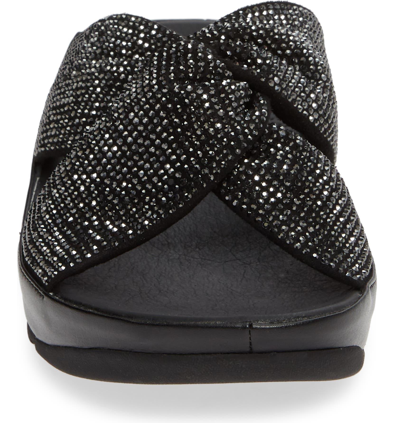 8111645fd1fb FitFlop Twiss Crystal Embellished Slide Sandal (Women)