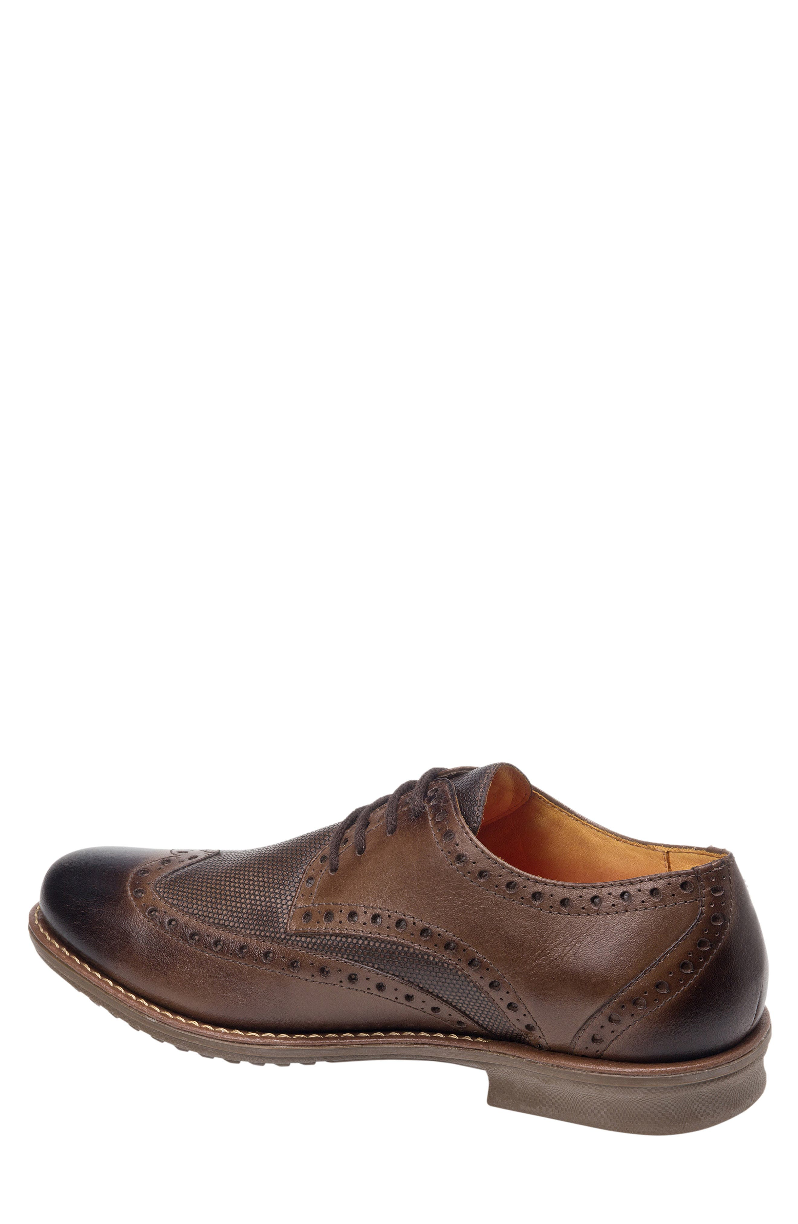 SANDRO MOSCOLONI, Martin Wingtip, Alternate thumbnail 2, color, BROWN LEATHER
