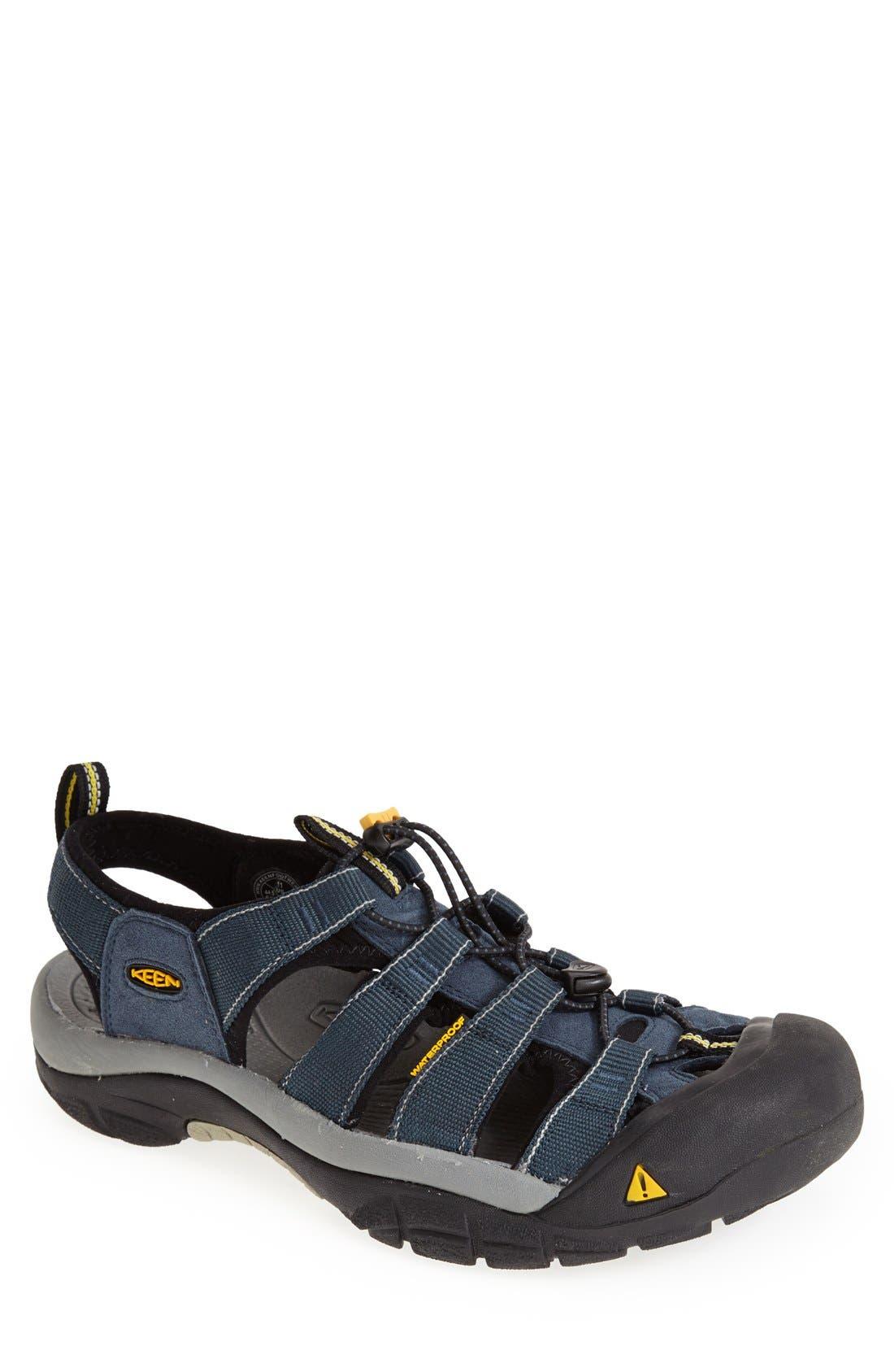 011d81ec59c6 UPC 871209115891 - Keen Newport H2 (Navy Medium Grey) Men s Sandals ...