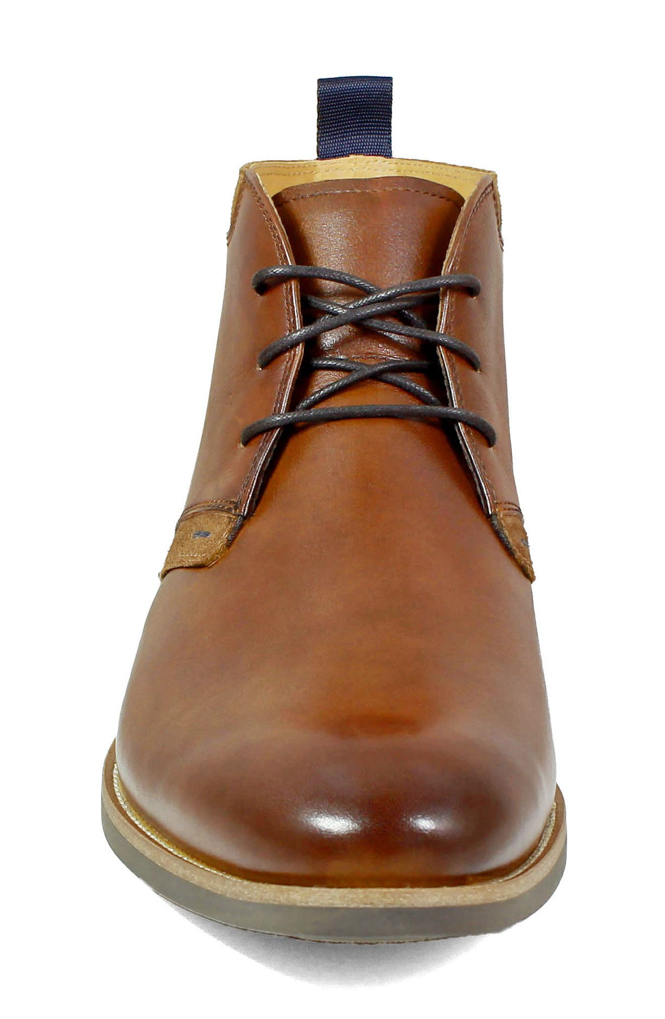 FLORSHEIM, Uptown Chukka Boot, Alternate thumbnail 4, color, COGNAC LEATHER