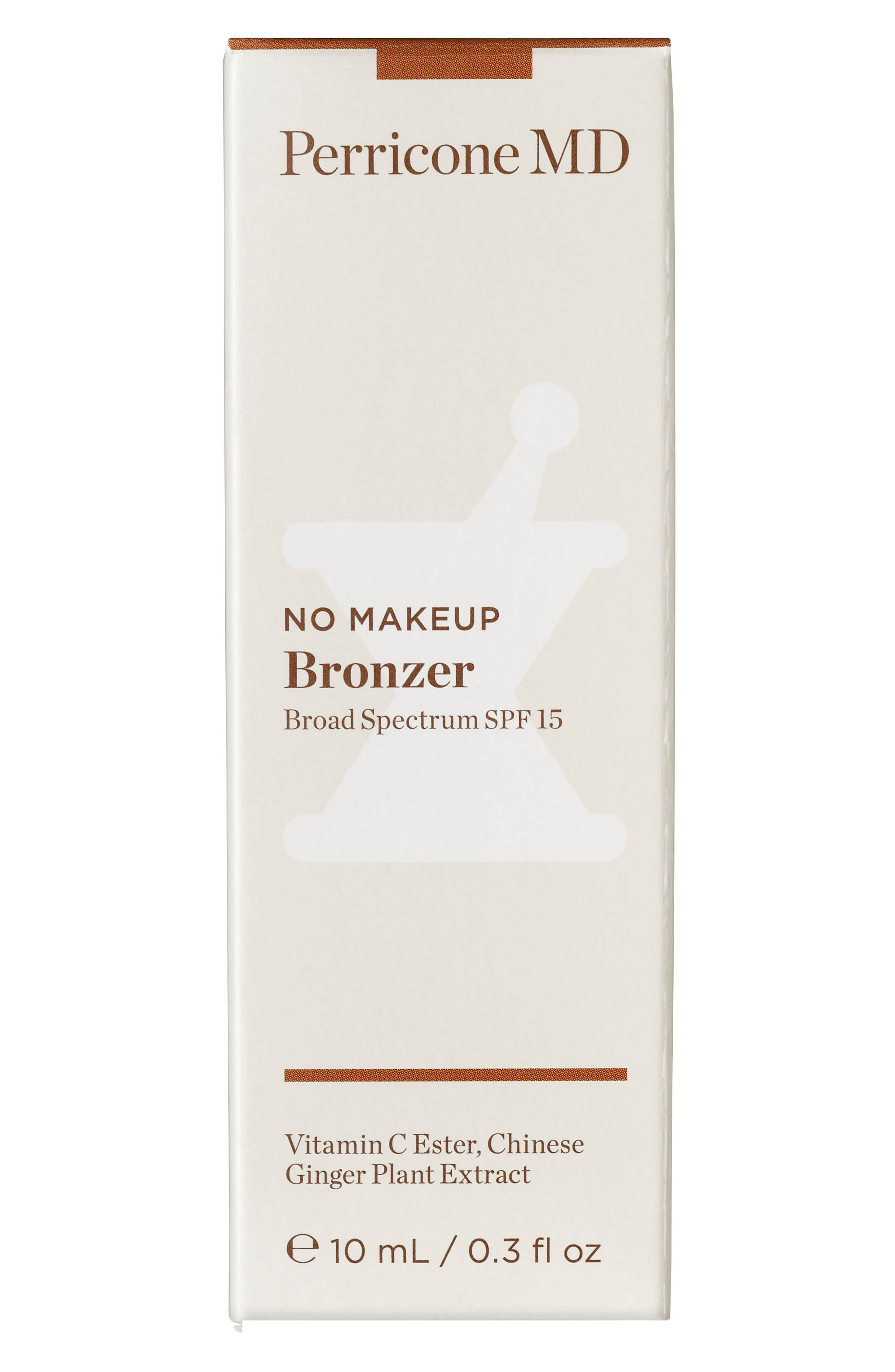 PERRICONE MD, No Makeup Bronzer Broad Spectrum SPF 15, Alternate thumbnail 3, color, 000