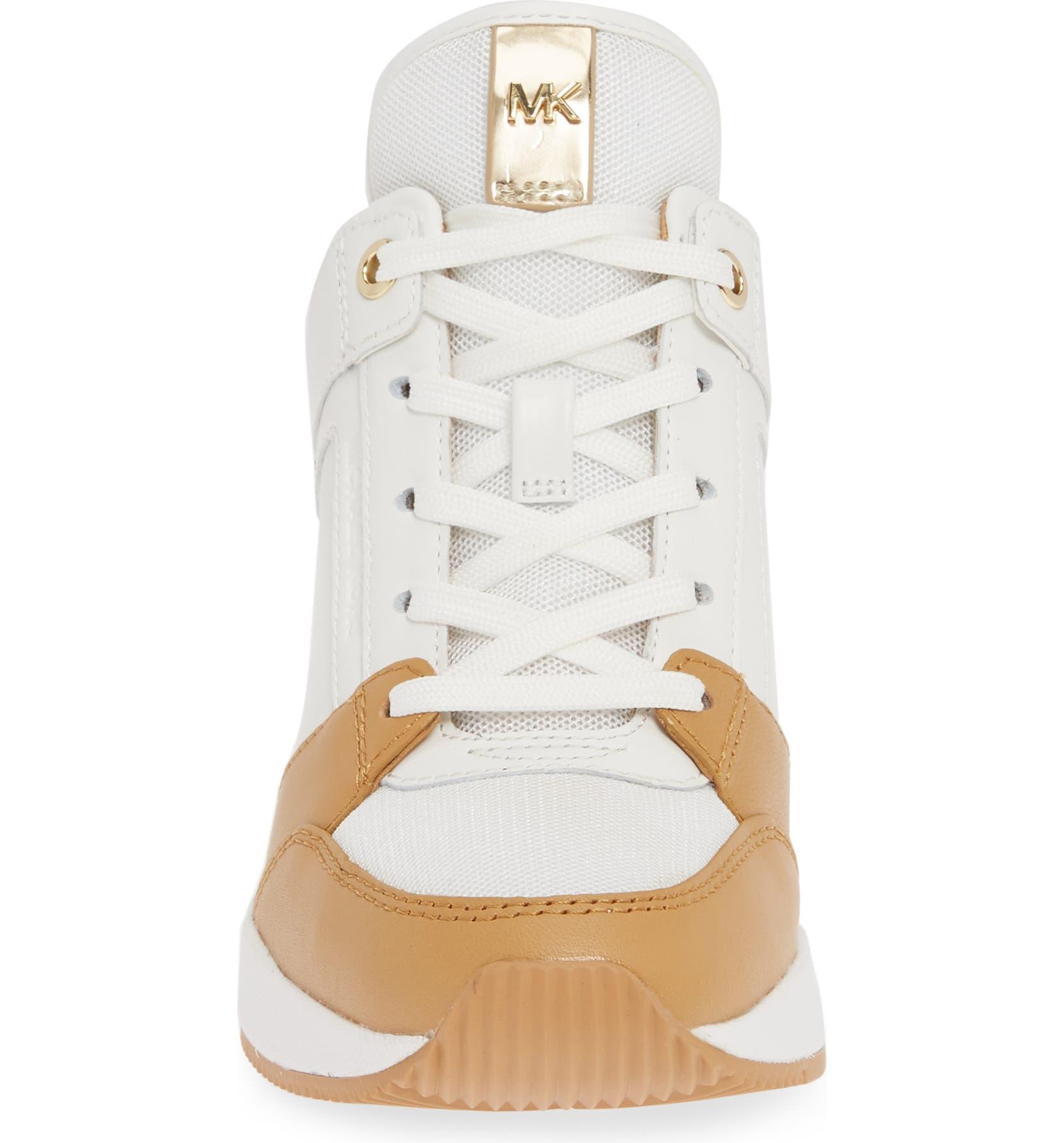 df8ecab2abd MICHAEL Michael Kors Georgie Wedge Sneaker (Women)