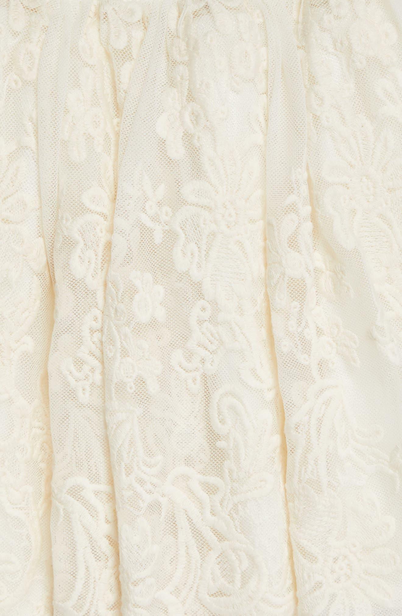 POPATU, Lace Tutu Skirt, Alternate thumbnail 2, color, IVORY