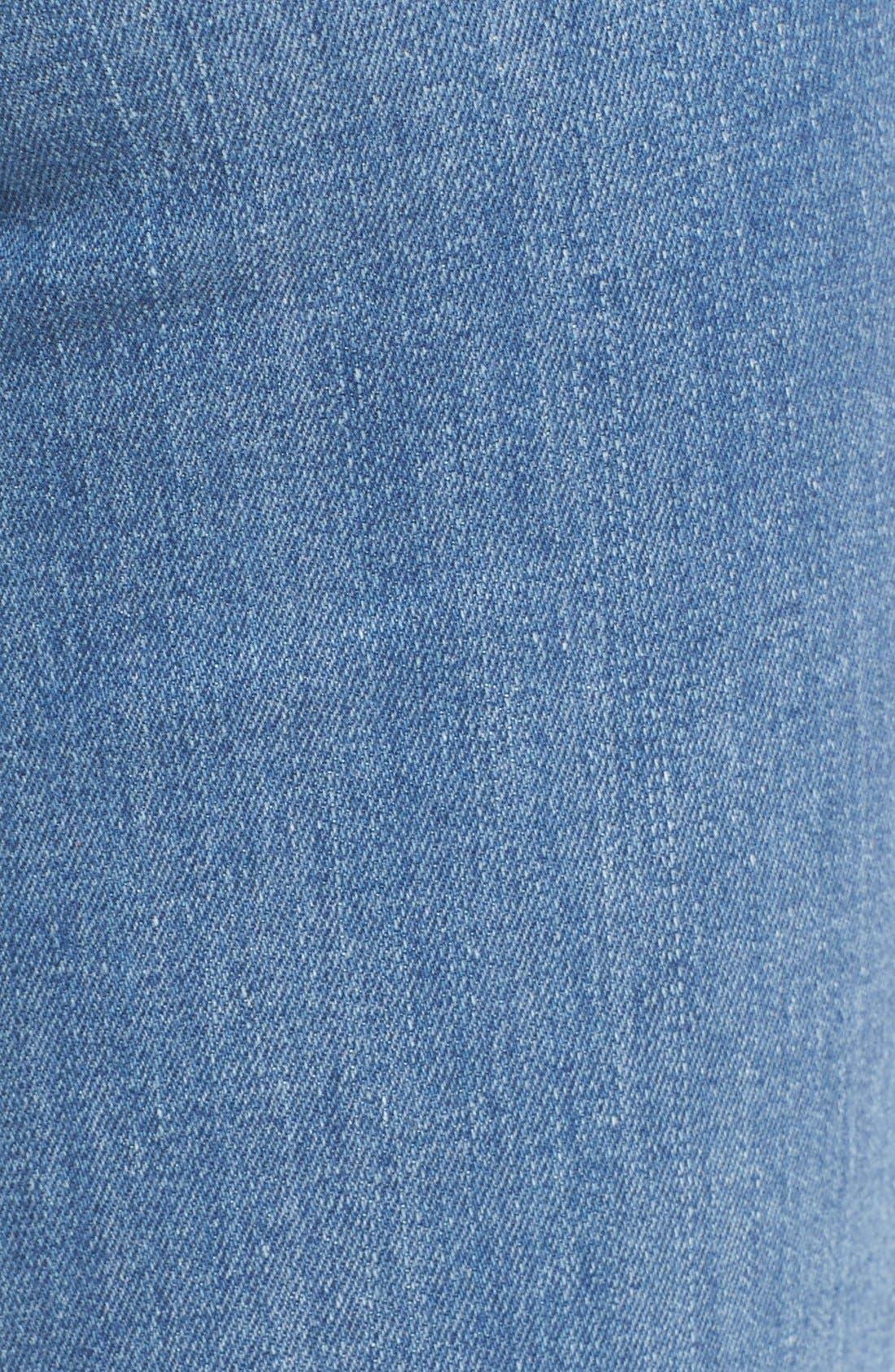 FRAME, Forever Karlie Flare Jeans, Alternate thumbnail 5, color, 401