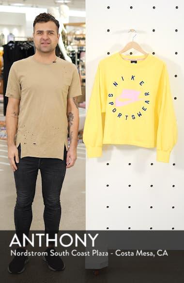 Sportswear Logo Oversize Sweatshirt, sales video thumbnail