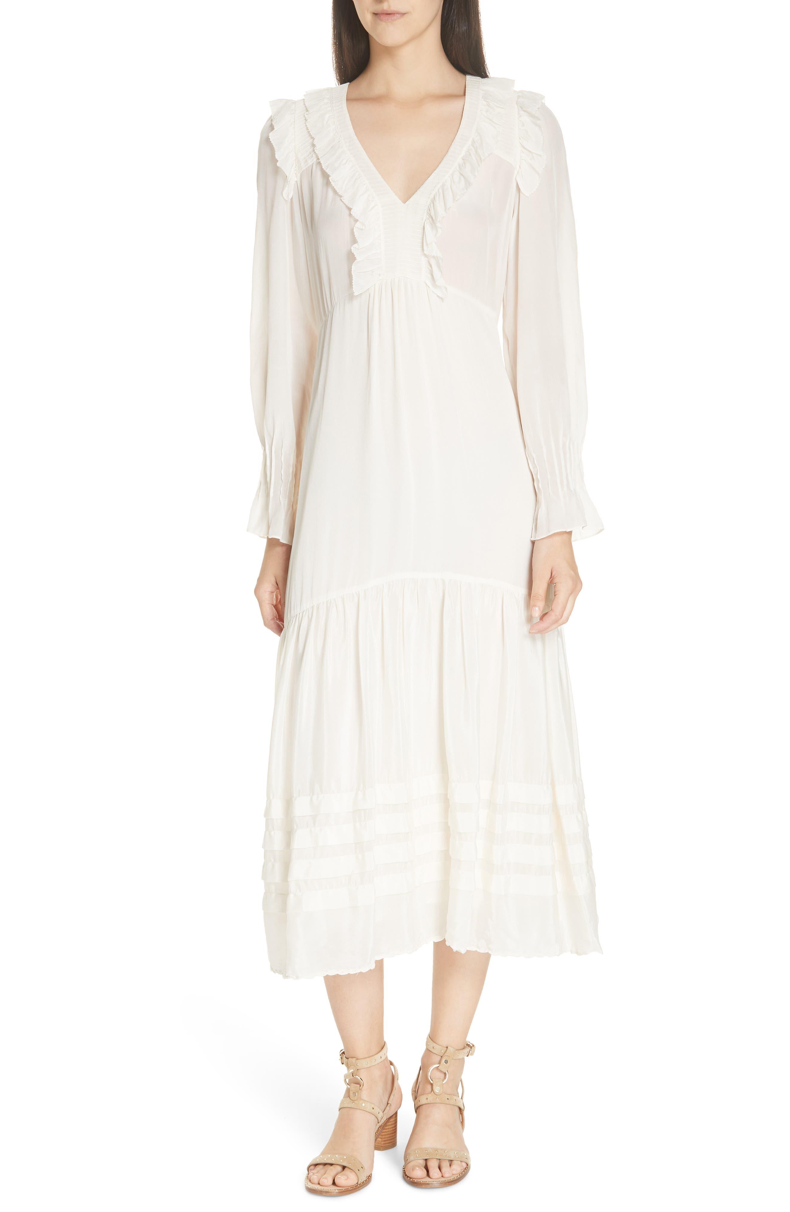 Sea Seraphina Midi Dress, Ivory
