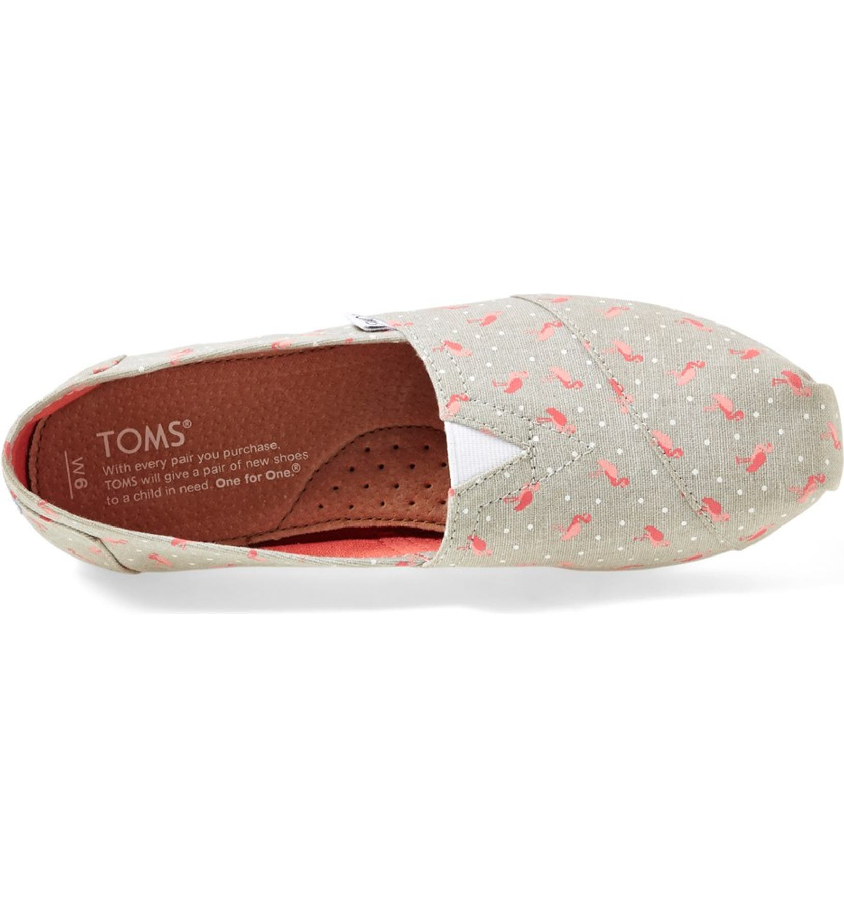 294478a8803 TOMS  Classic - Flamingo  Alpargata Slip-On (Women)