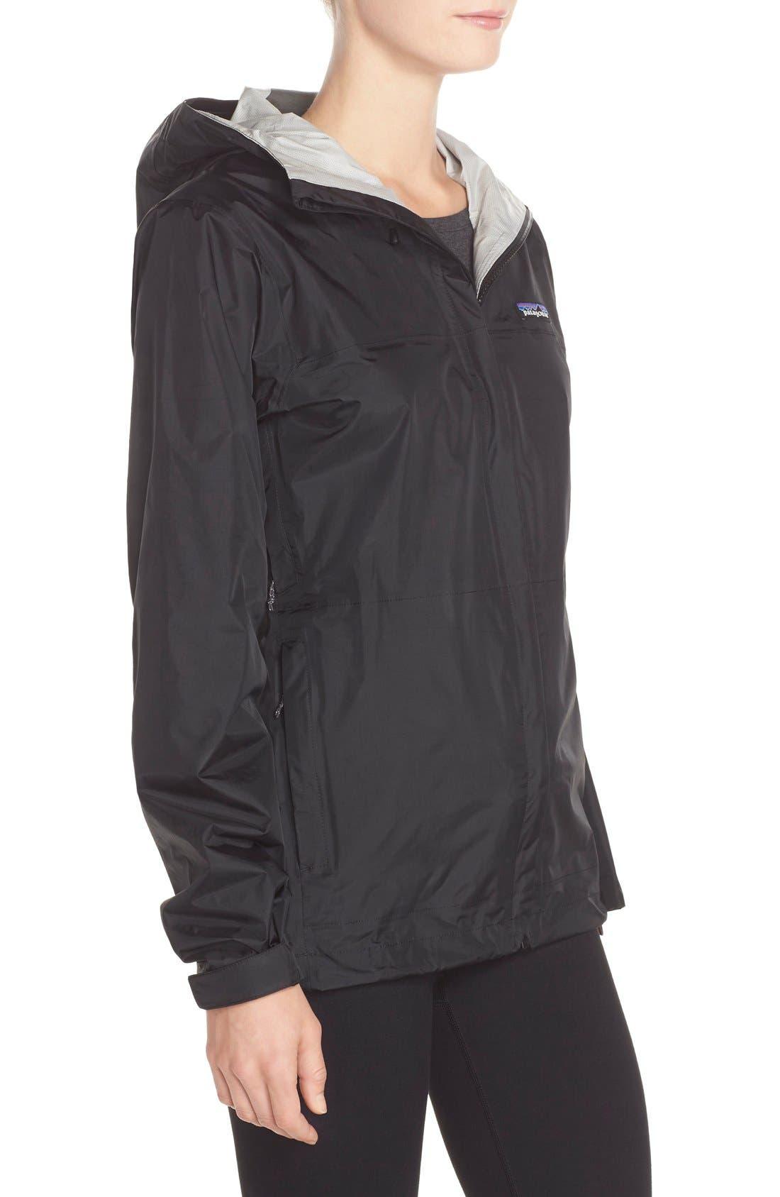 PATAGONIA, Torrentshell Jacket, Alternate thumbnail 5, color, BLACK