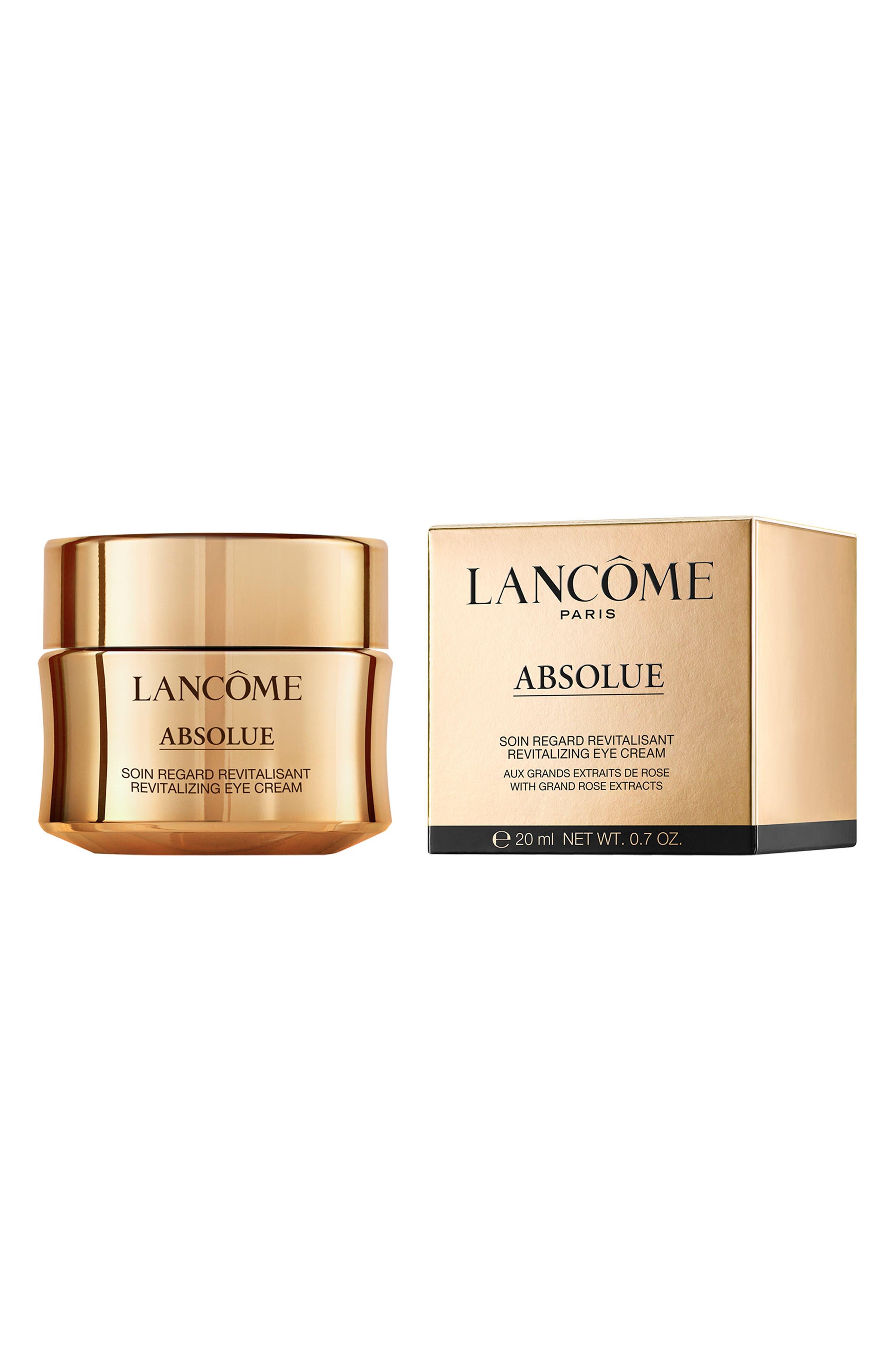 LANCÔME, Absolue Revitalizing Eye Cream, Alternate thumbnail 4, color, NO COLOR