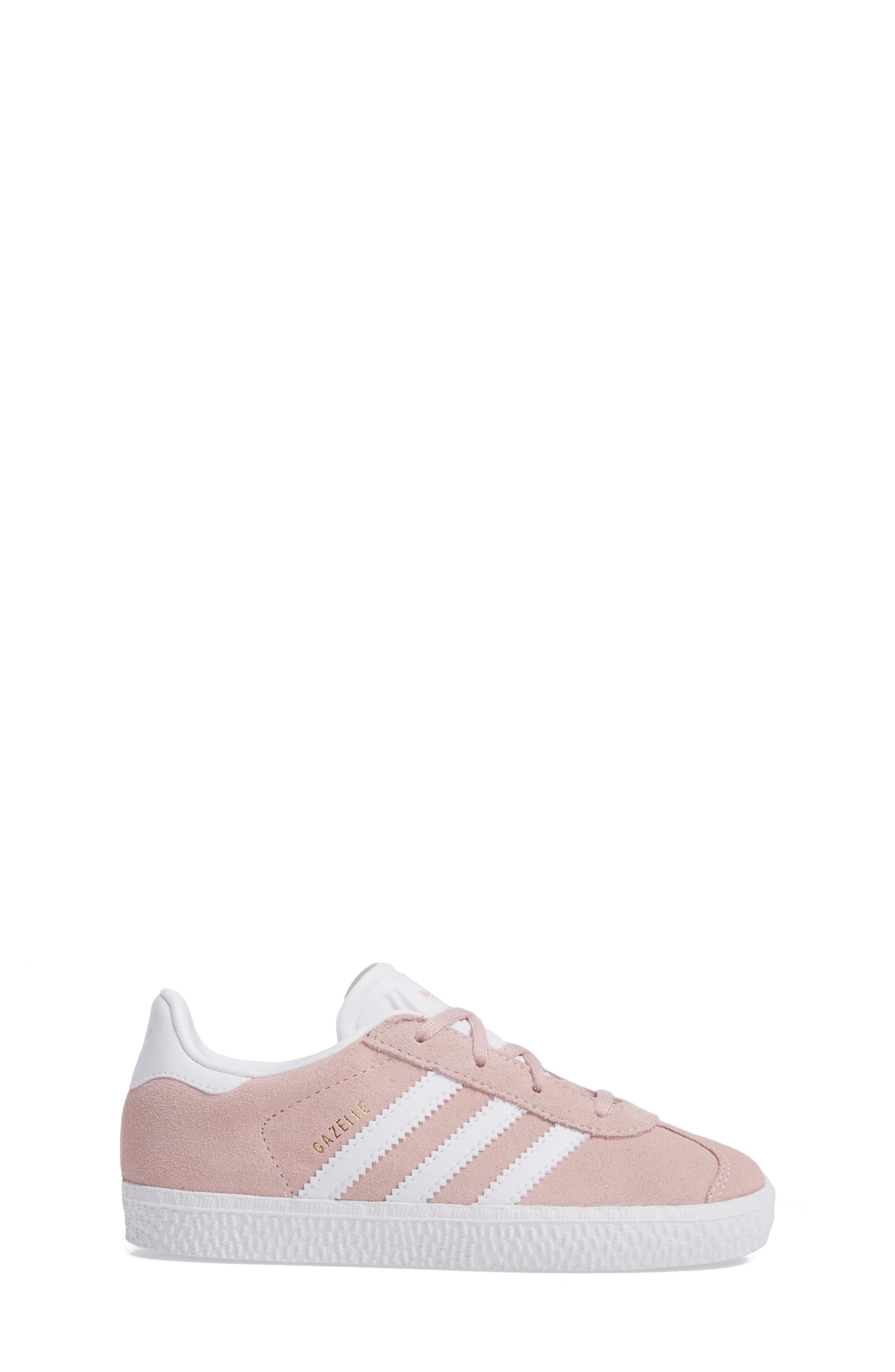 ADIDAS, Gazelle Sneaker, Alternate thumbnail 3, color, 682