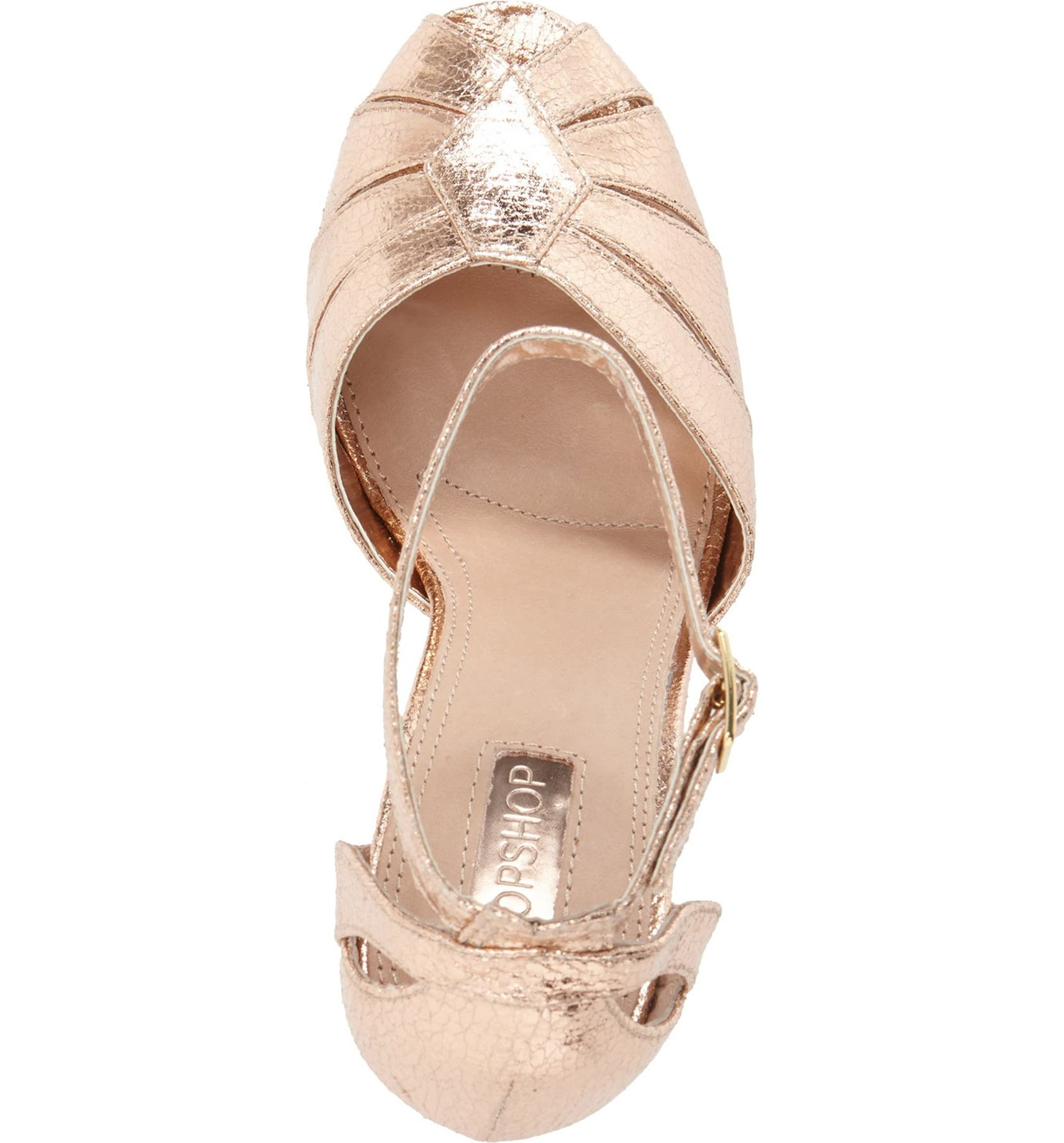 e33b8a0138e Topshop  Sienna  Platform Peep Toe Sandal (Women)