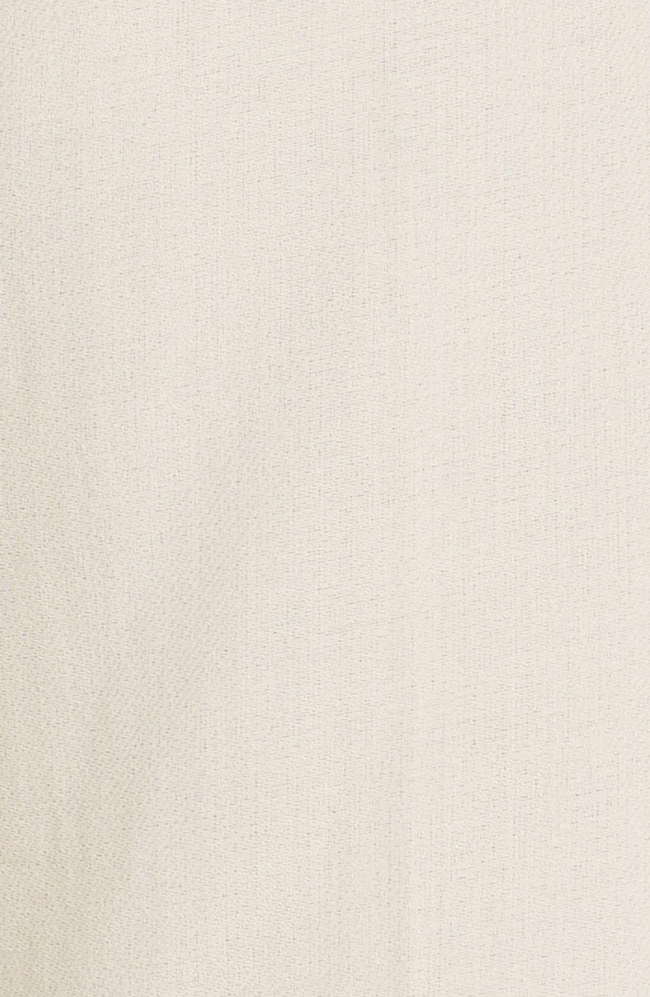 MAX MARA, Cursore Cotton Wide Leg Pants, Alternate thumbnail 5, color, 900