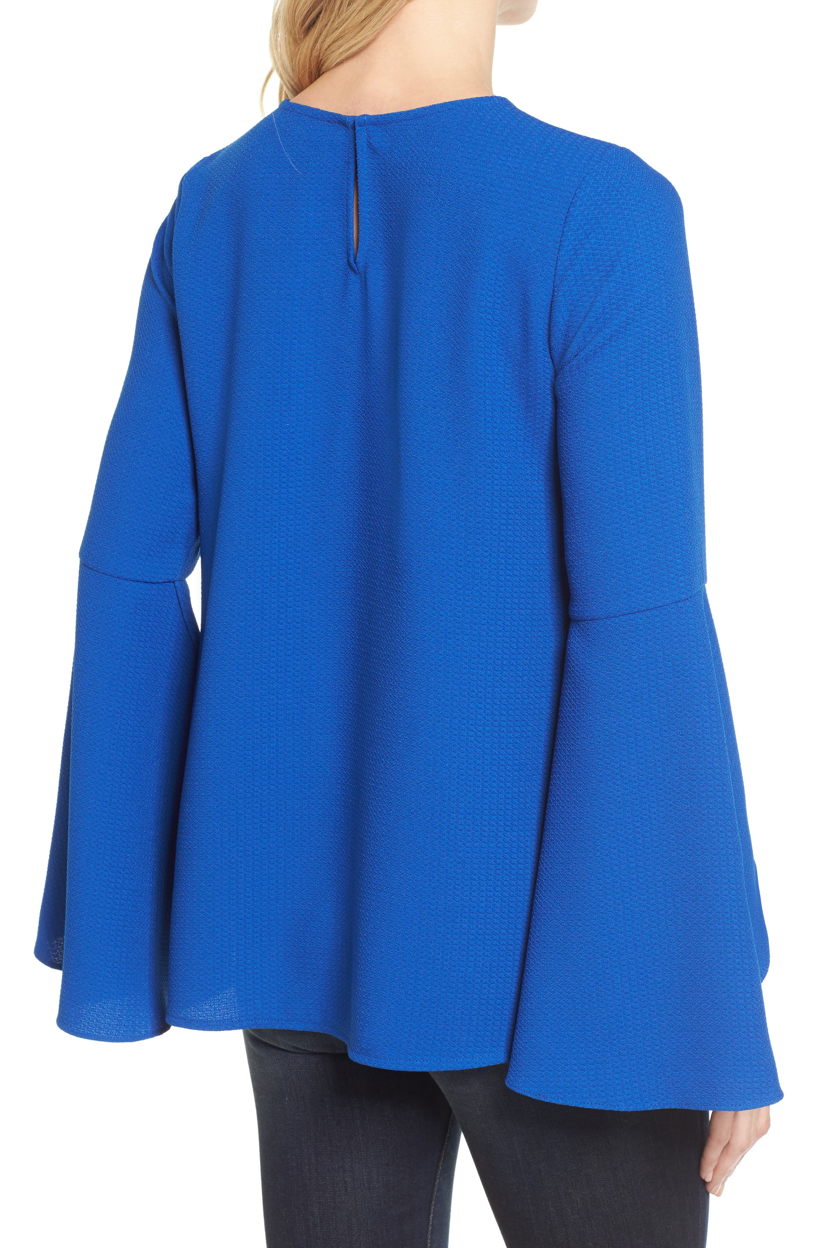 HALOGEN<SUP>®</SUP>, Bell Sleeve Top, Alternate thumbnail 2, color, 420