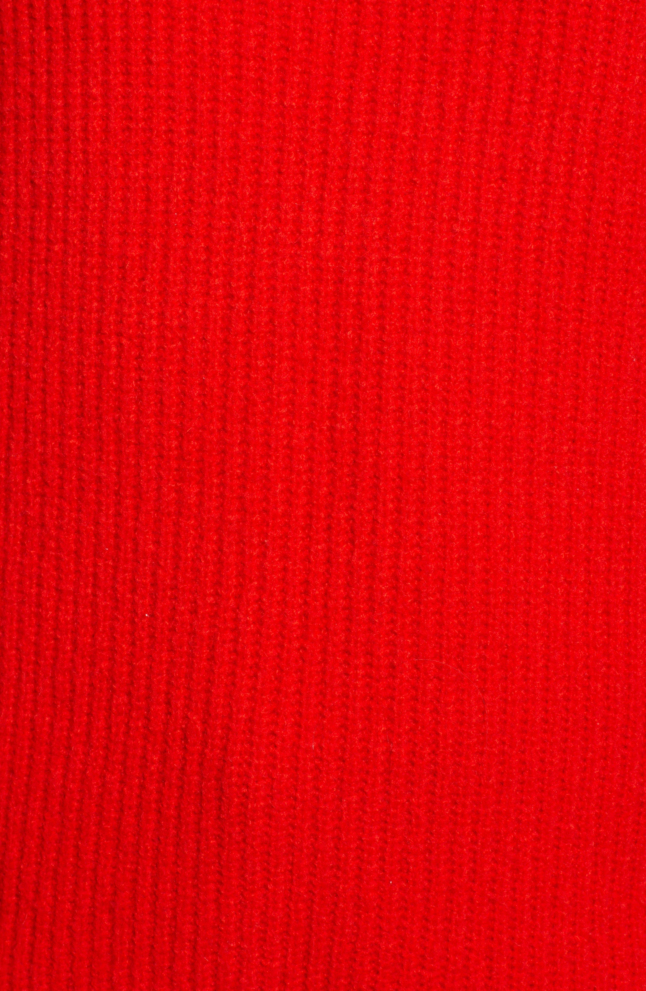 CHELSEA28, Rib Funnel Neck Sweater, Alternate thumbnail 6, color, 610