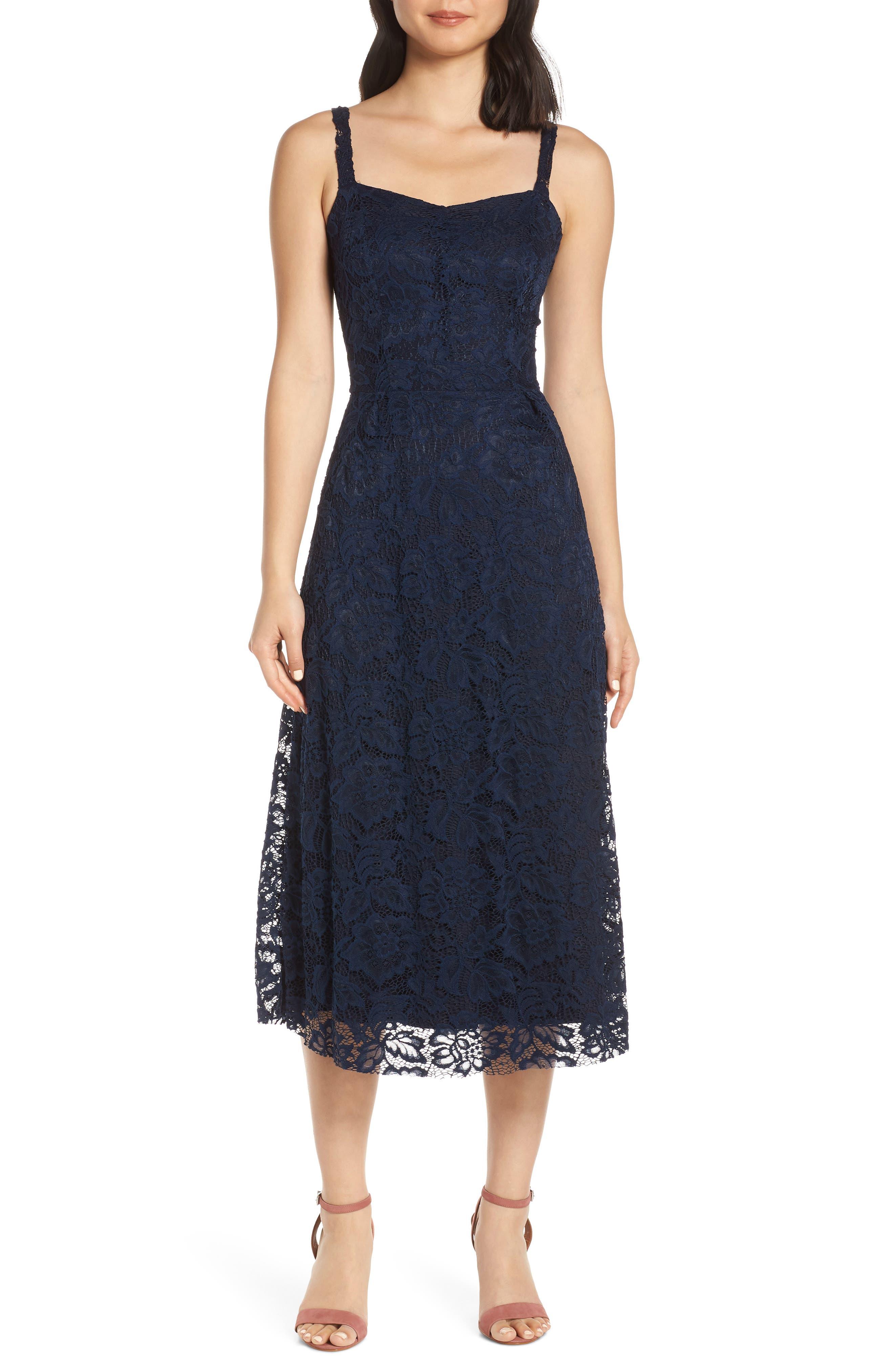 Fraiche By J Lace Ballet Dress, Blue