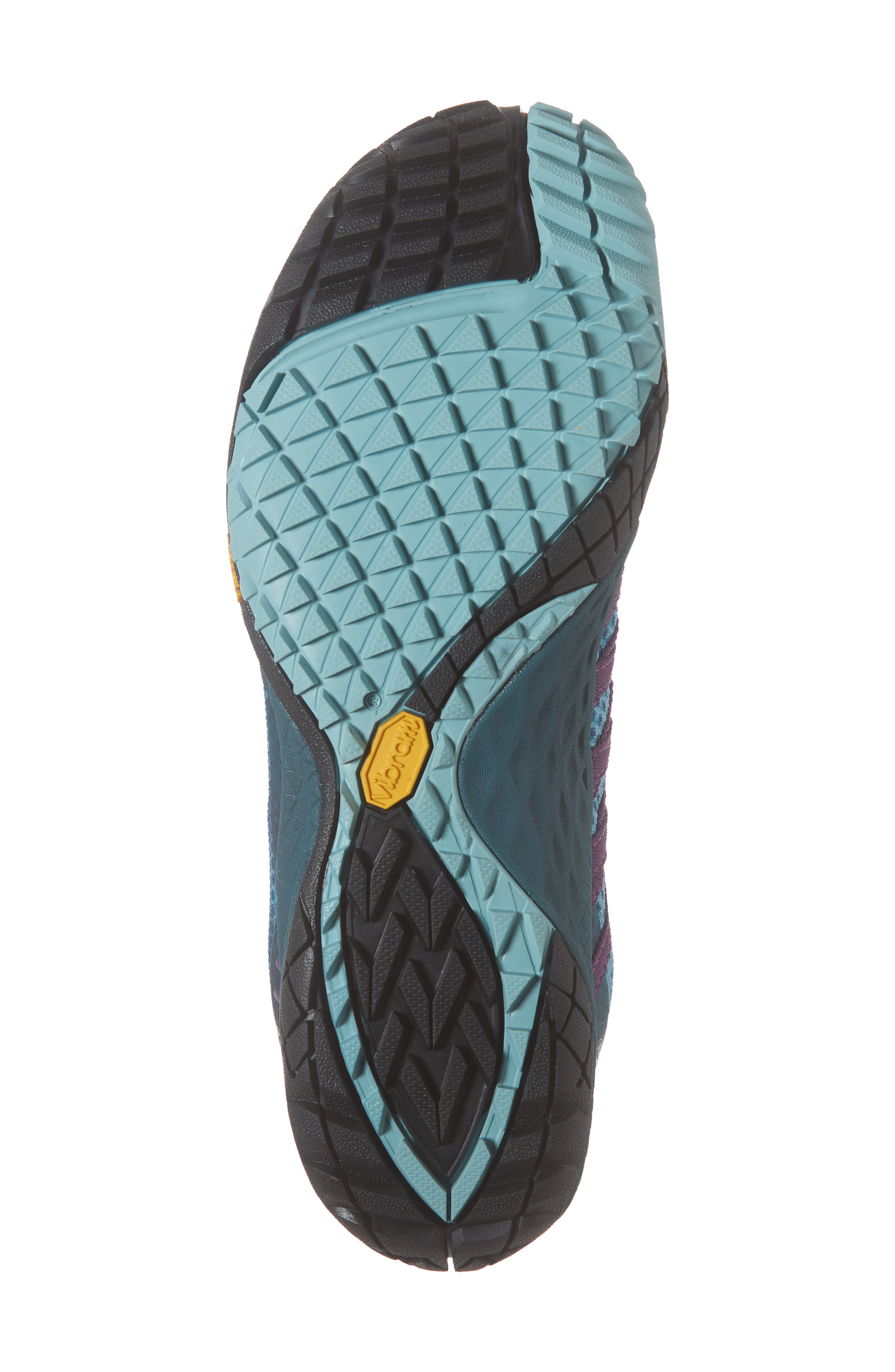 MERRELL, Trail Glove 4 Shield Water Resistant Running Shoe, Alternate thumbnail 6, color, 400