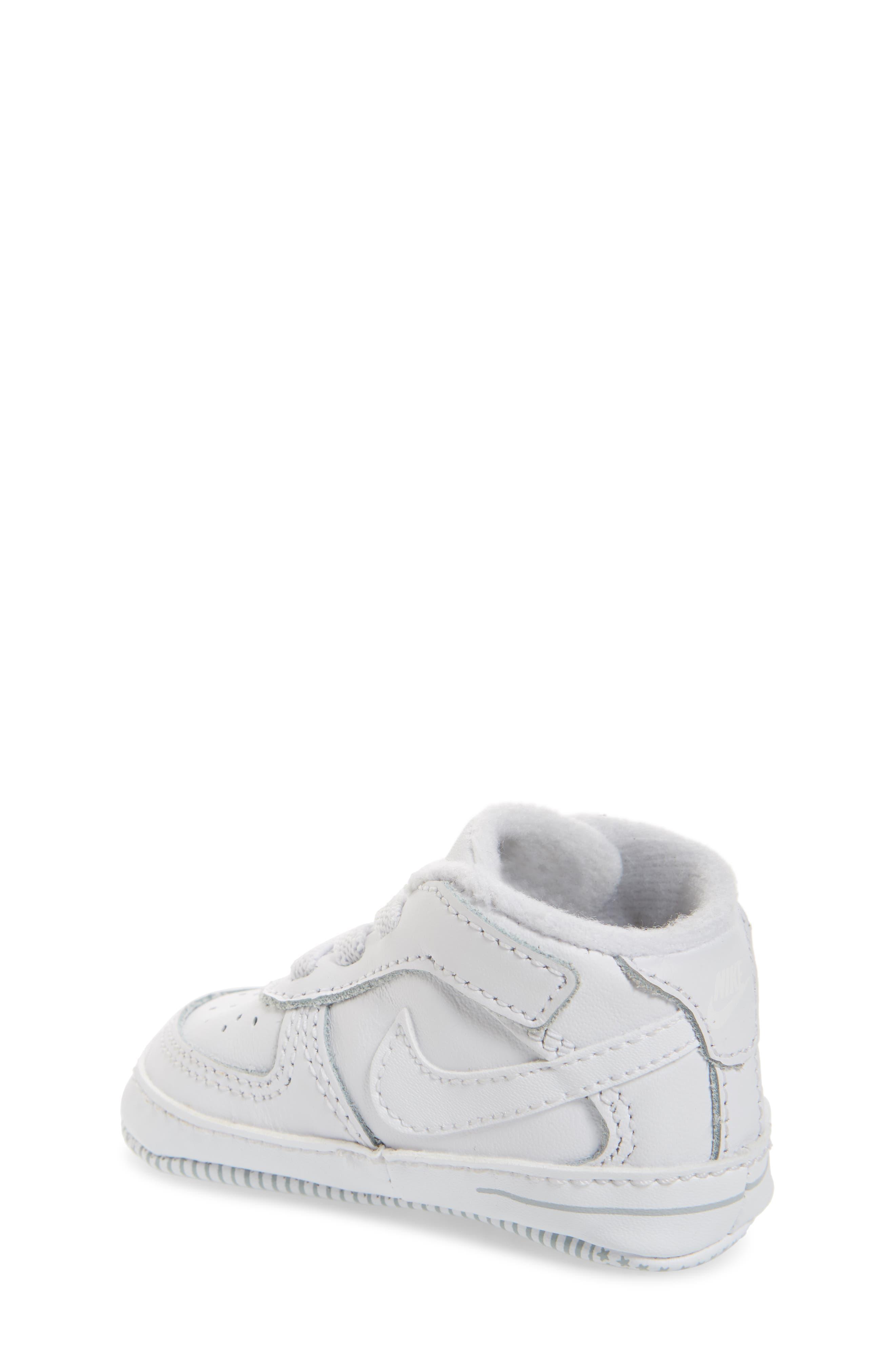 NIKE, Air Force 1 Sneaker, Alternate thumbnail 2, color, WHITE/ WHITE/ WHITE