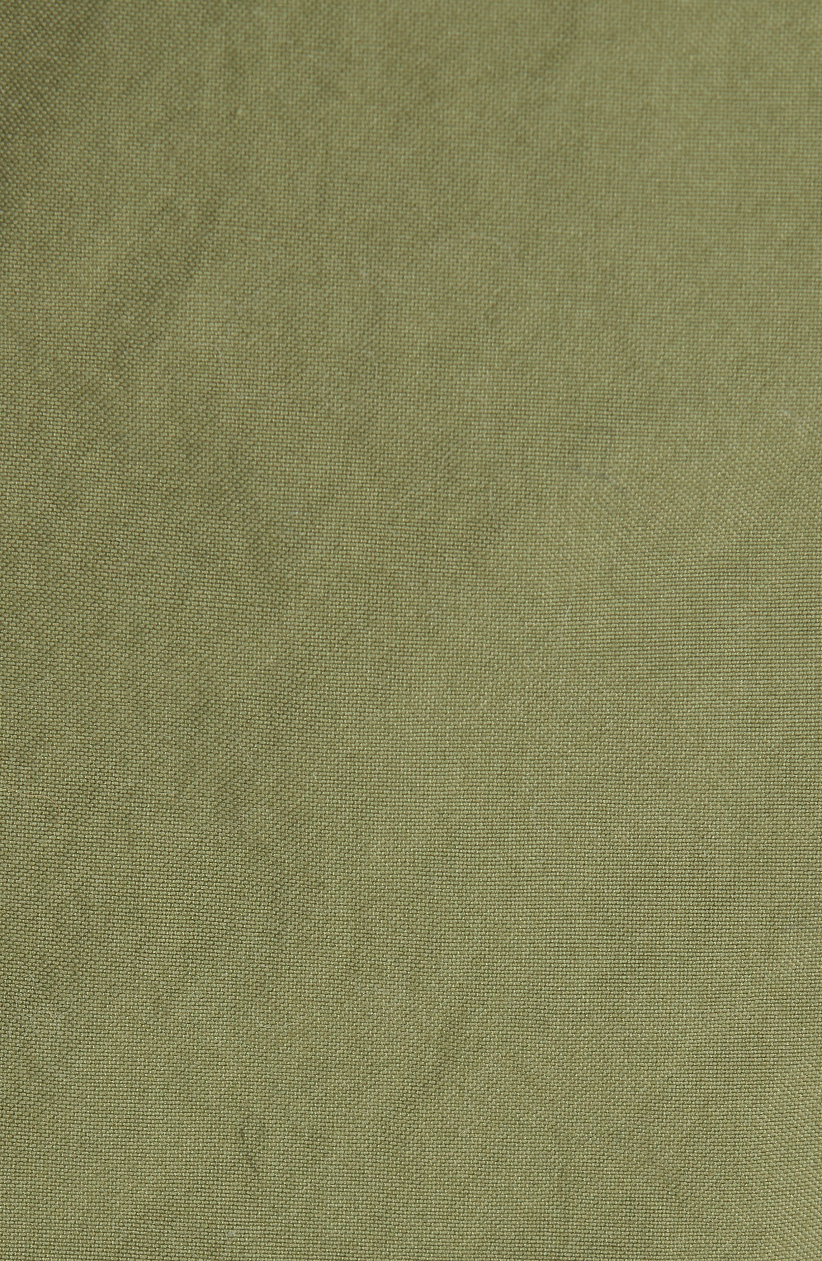 MR & MRS ITALY, Genuine Fox Fur Trim Parka, Alternate thumbnail 6, color, MULTICOLOR/ NATURAL