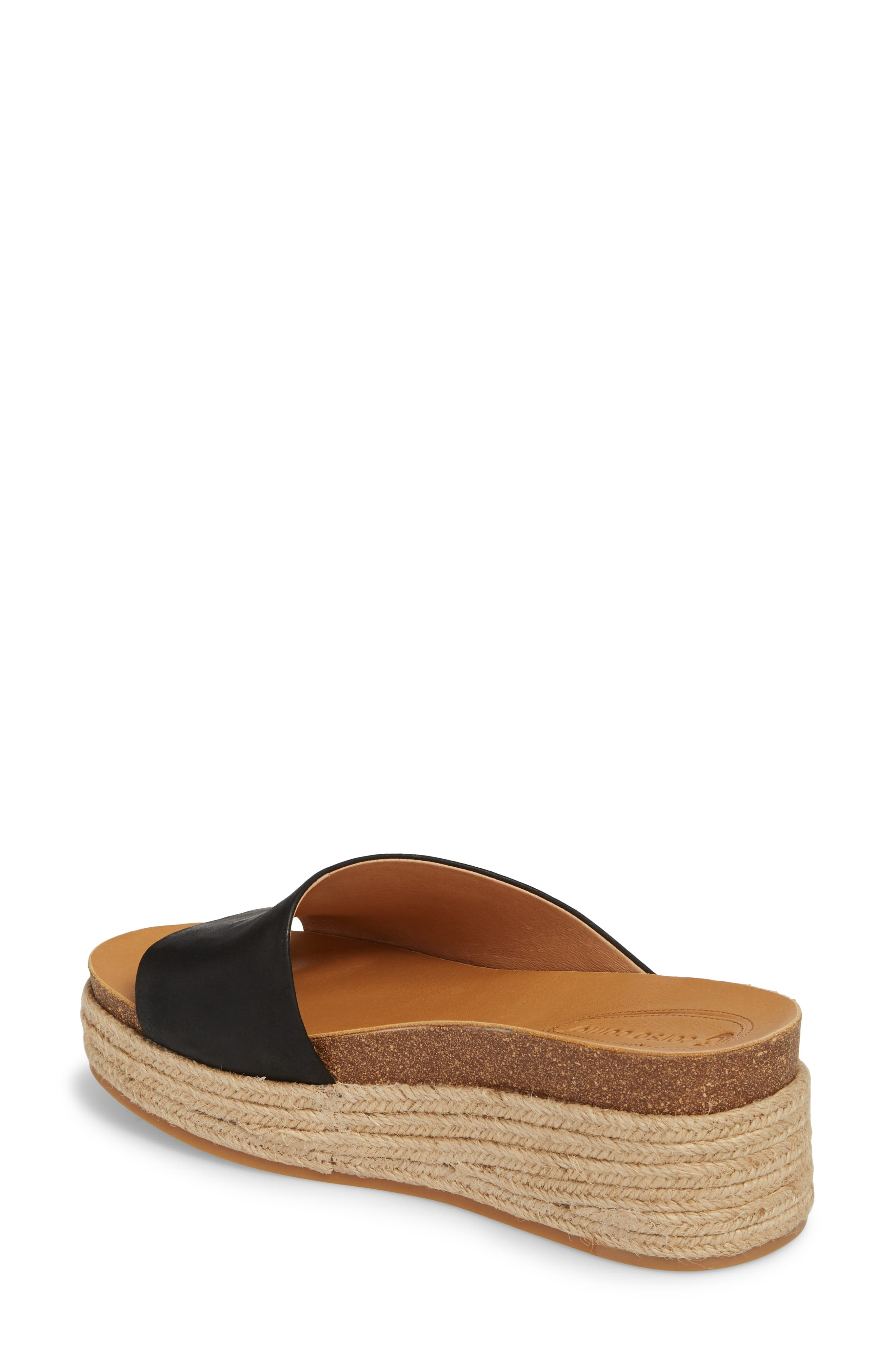 CC CORSO COMO<SUP>®</SUP>, Candice Sandal, Alternate thumbnail 2, color, BLACK LEATHER