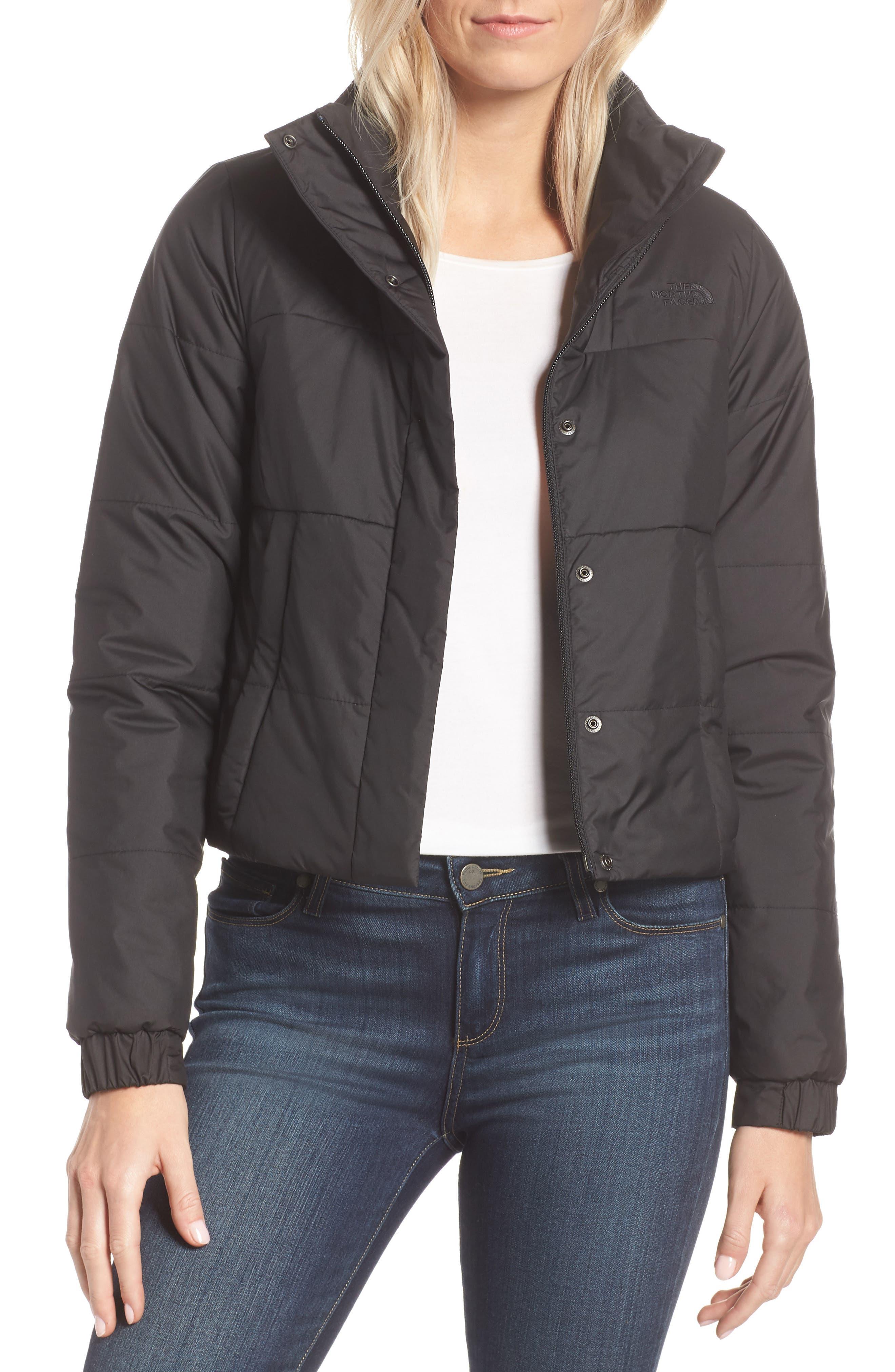 THE NORTH FACE, Femtastic Heatseeker Insulated Jacket, Main thumbnail 1, color, TNF BLACK