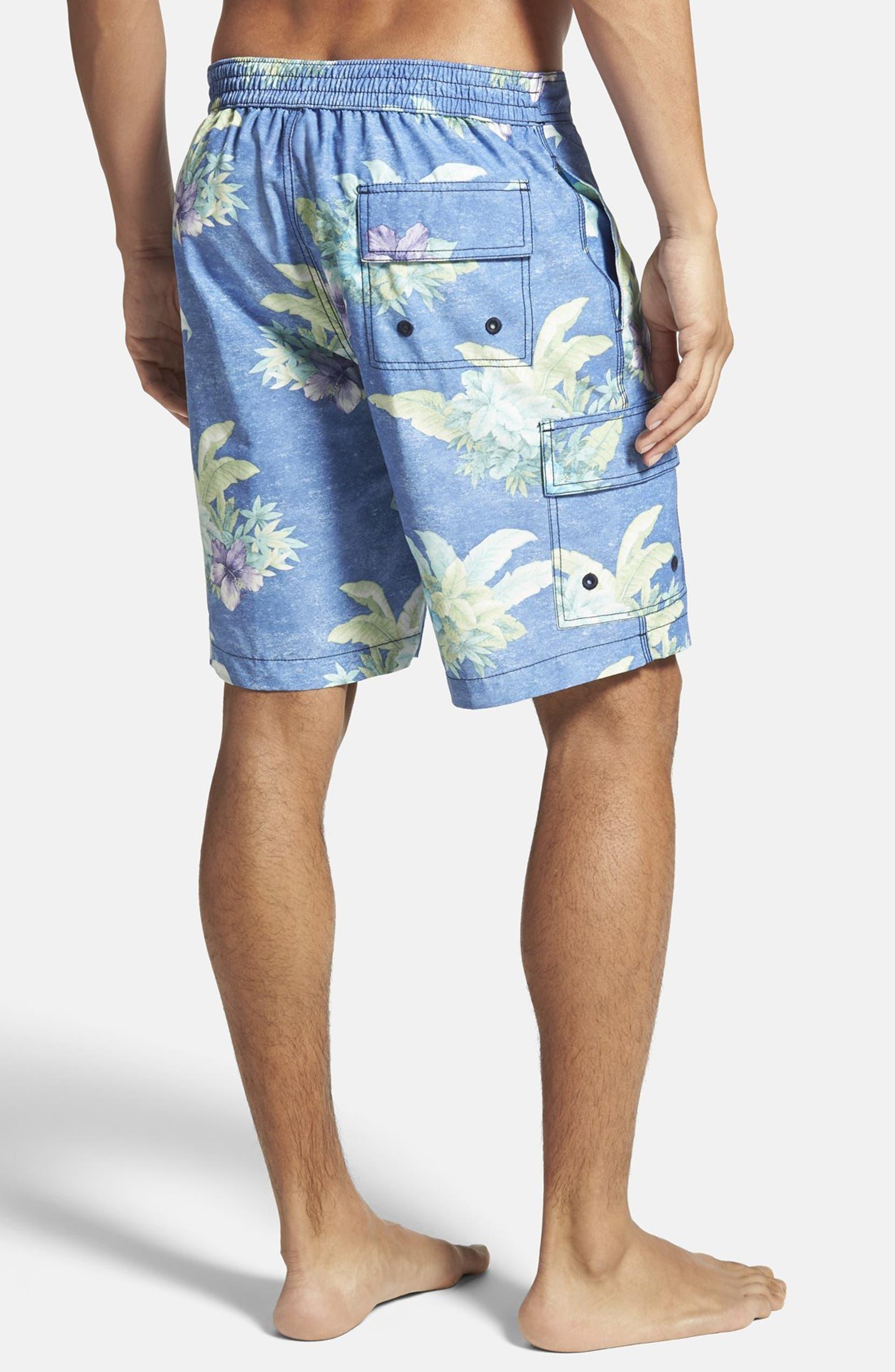 0c8ca1d814 Tommy Bahama 'Baja Hibiscus Hukilau' Board Shorts | Nordstrom