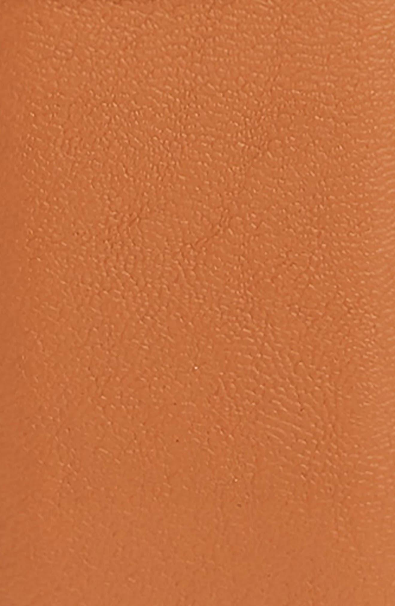 NORDSTROM, Reversible Faux Leather Belt, Alternate thumbnail 3, color, BROWN