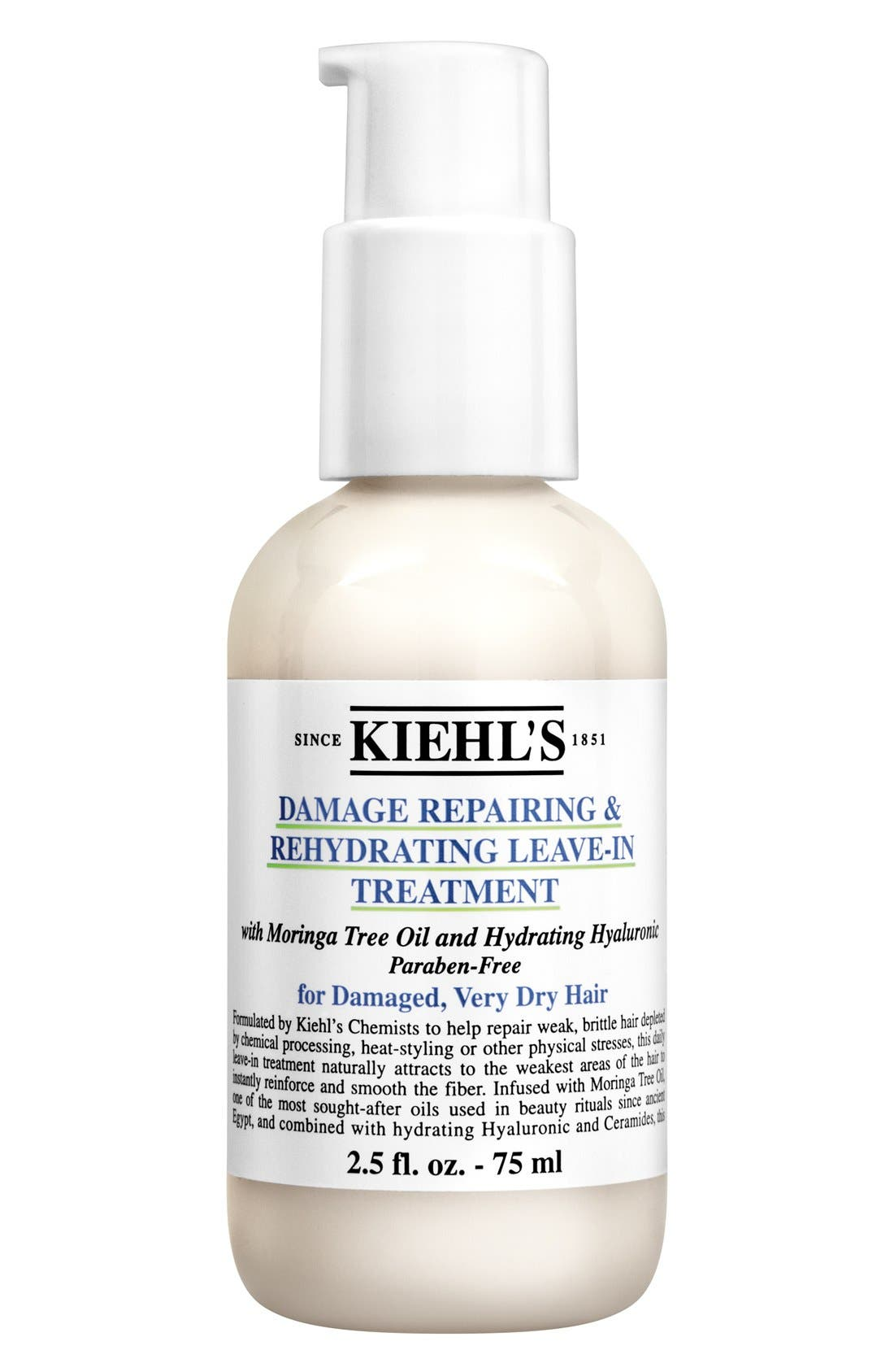 KIEHL'S SINCE 1851, Damage Repairing & Rehydrating Leave-In Treatment, Alternate thumbnail 5, color, NO COLOR