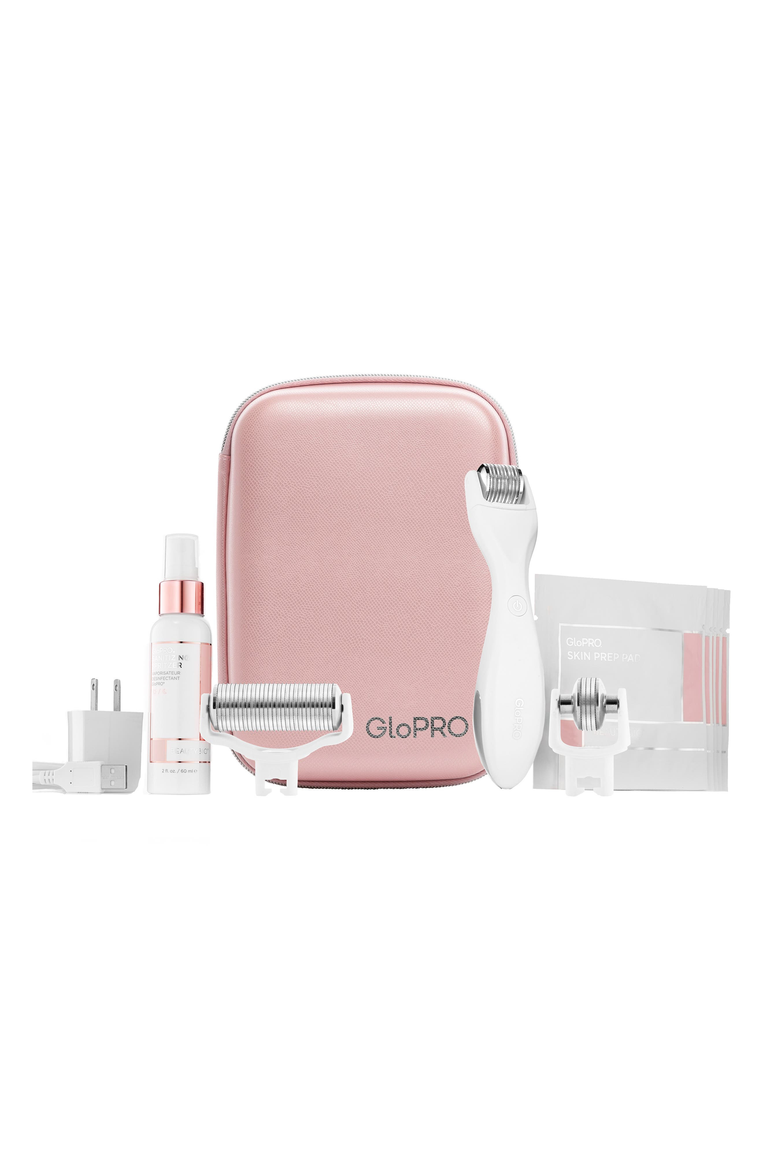 BEAUTYBIO, GloPRO<sup>®</sup> Pack N' Glo Microneedling Set, Main thumbnail 1, color, NO COLOR