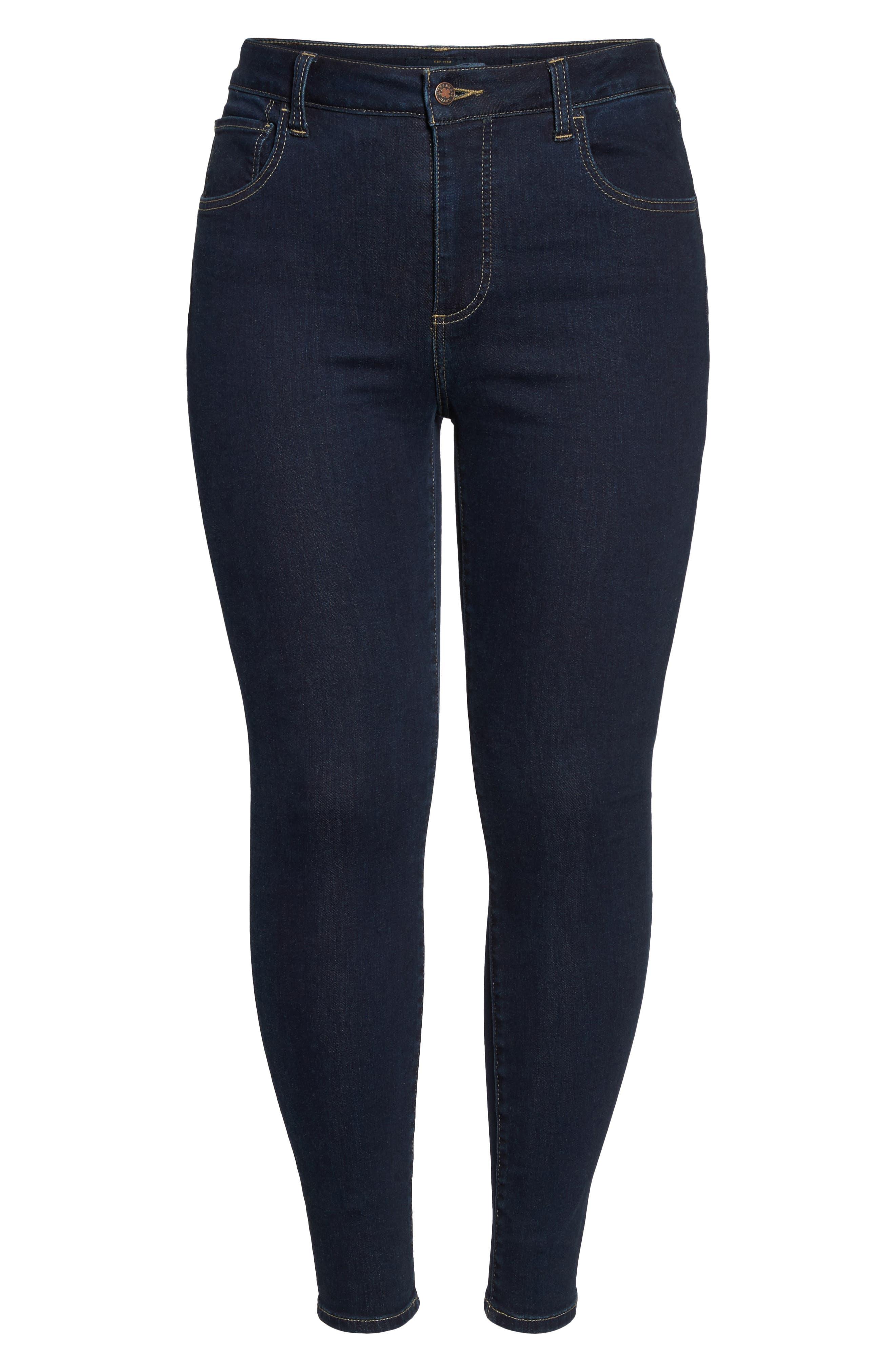 LUCKY BRAND, Emma High Rise Legging Jeans, Alternate thumbnail 7, color, BREAKER