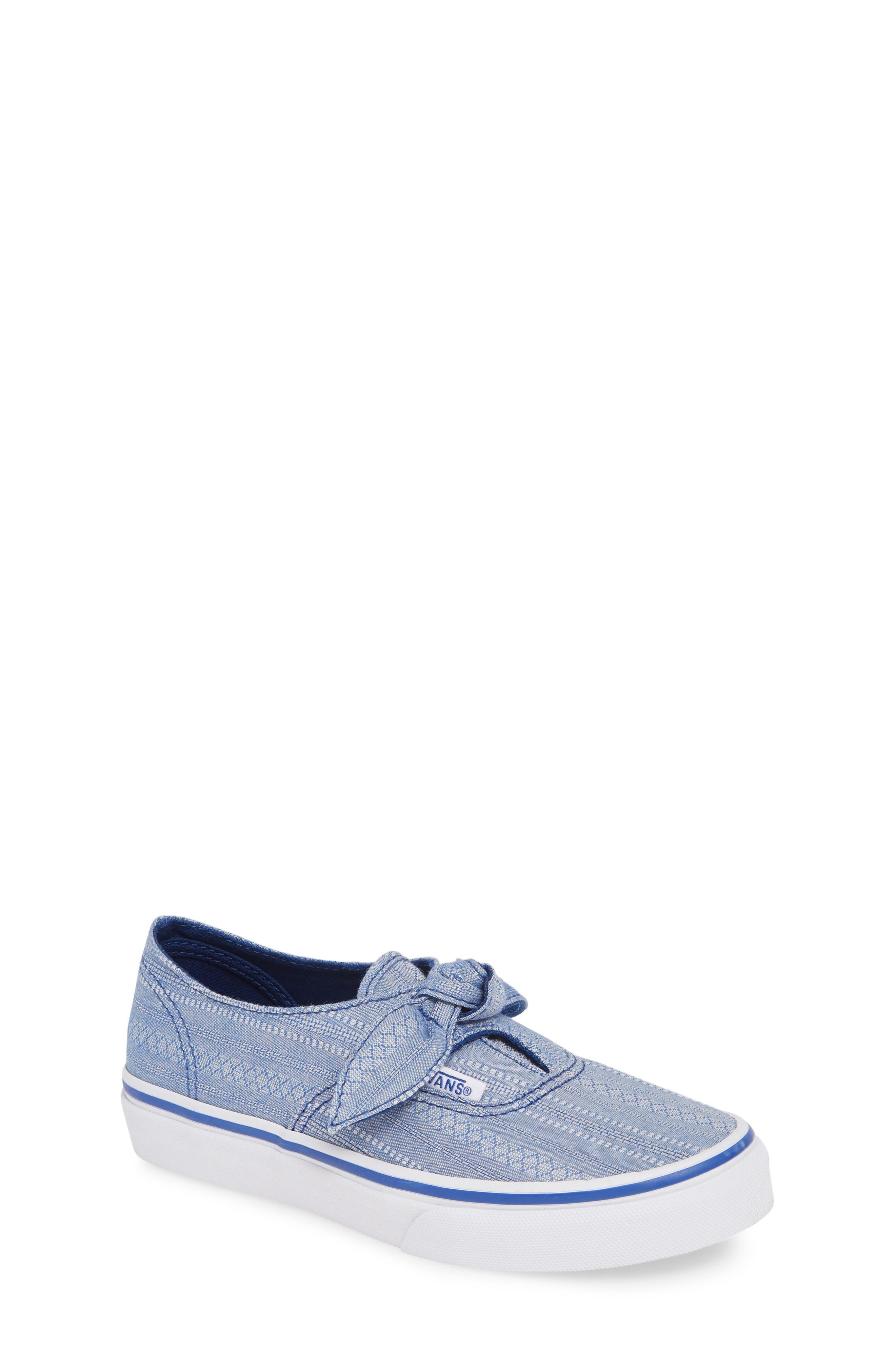 Girls Vans Authentic Knot SlipOn Sneaker