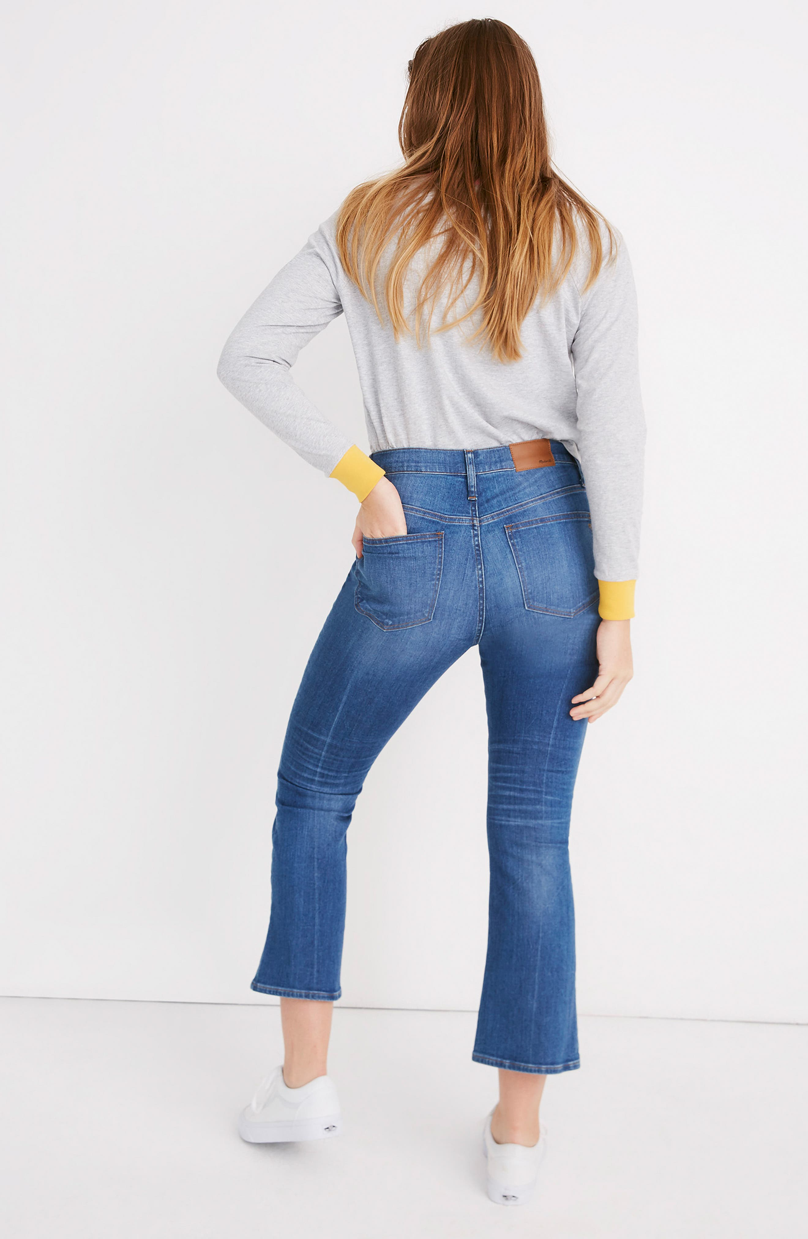 MADEWELL, Eco Edition Cali Demi Boot Jeans, Alternate thumbnail 15, color, TIERNEY WASH