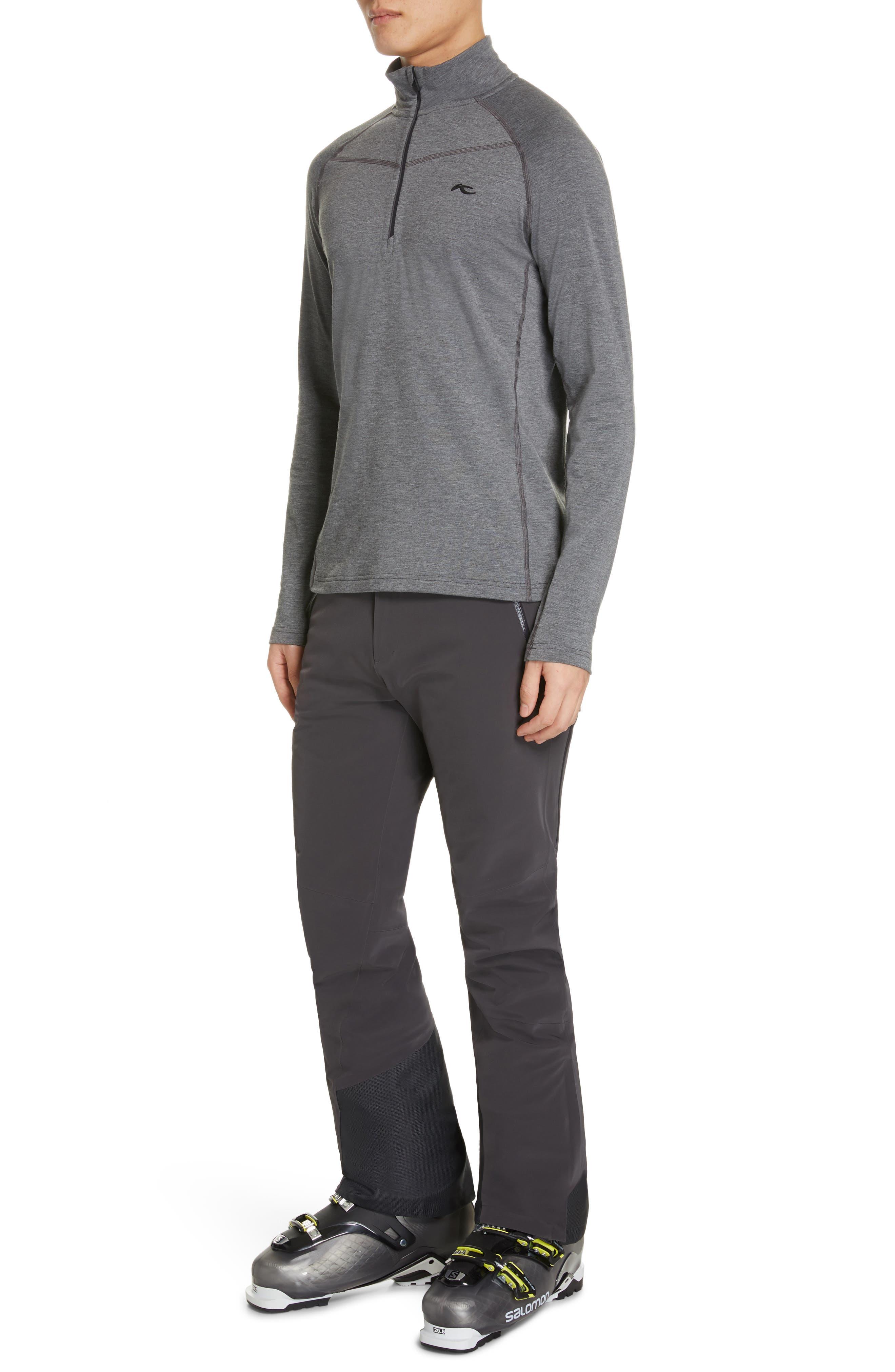 KJUS, Trace Half Zip Pullover, Alternate thumbnail 5, color, 020