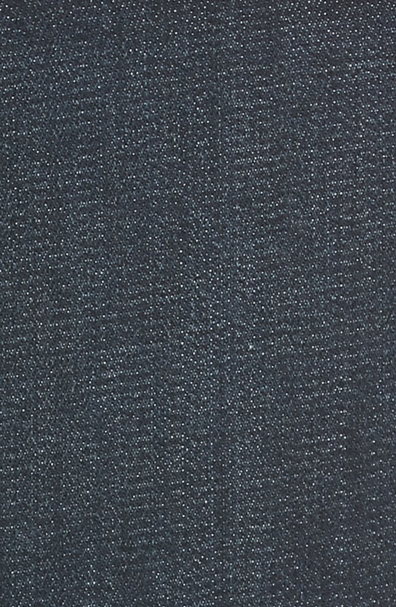 EILEEN FISHER, Raw Step Hem Slim Ankle Jeans, Alternate thumbnail 6, color, UTILITY BLUE