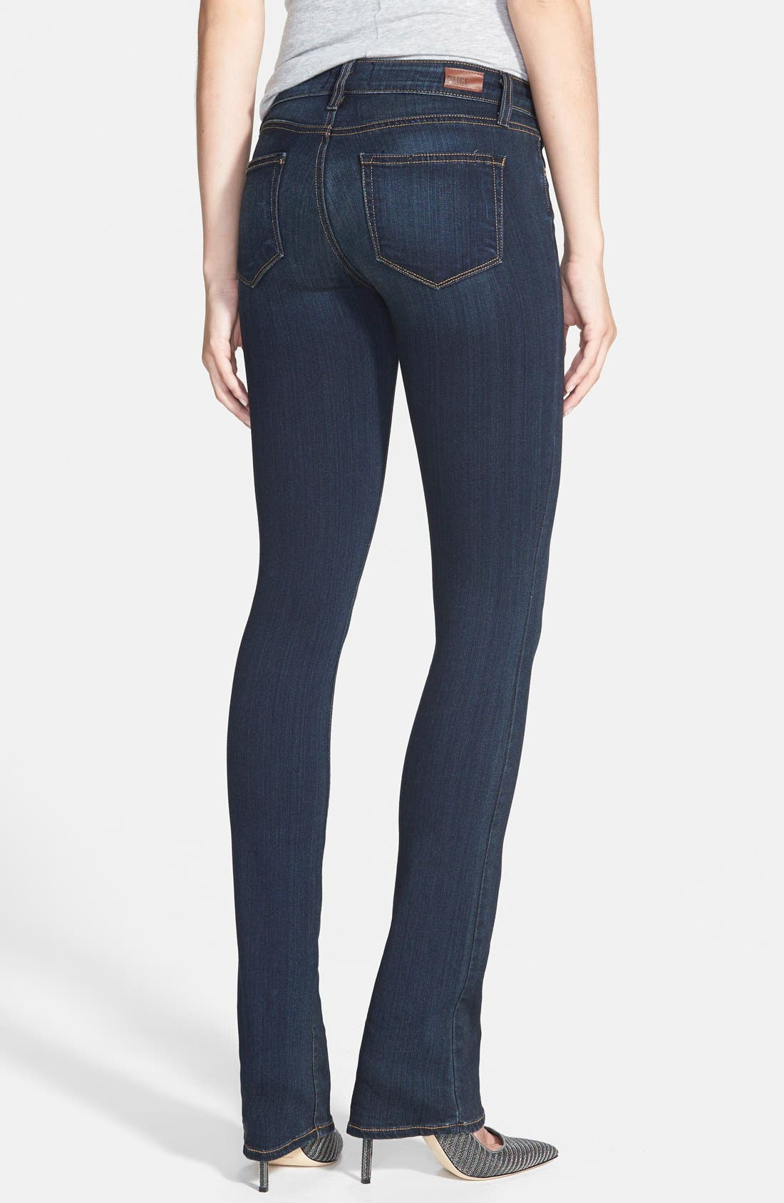 PAIGE, 'Transcend - Manhattan' Bootcut Jeans, Alternate thumbnail 3, color, ARMSTRONG