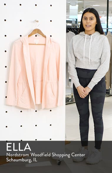 Open Front Hooded Cardigan, sales video thumbnail