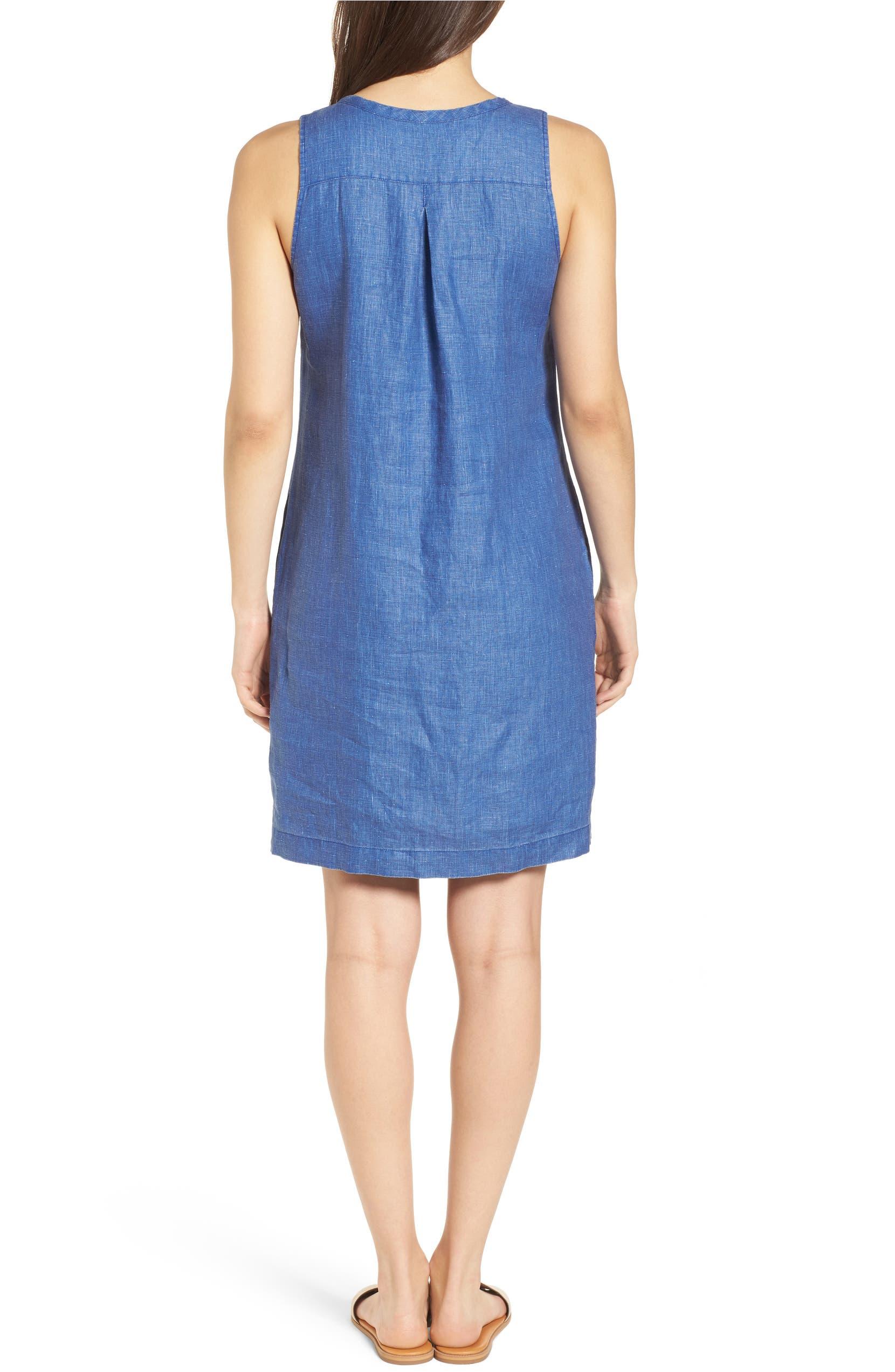 ca50e96e4a Tommy Bahama Sea Glass Linen Shift Dress