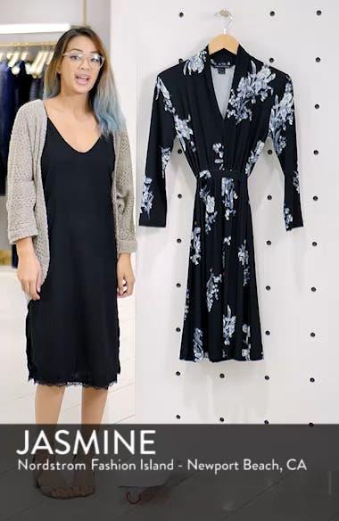 Laila Floral Print Dress, sales video thumbnail