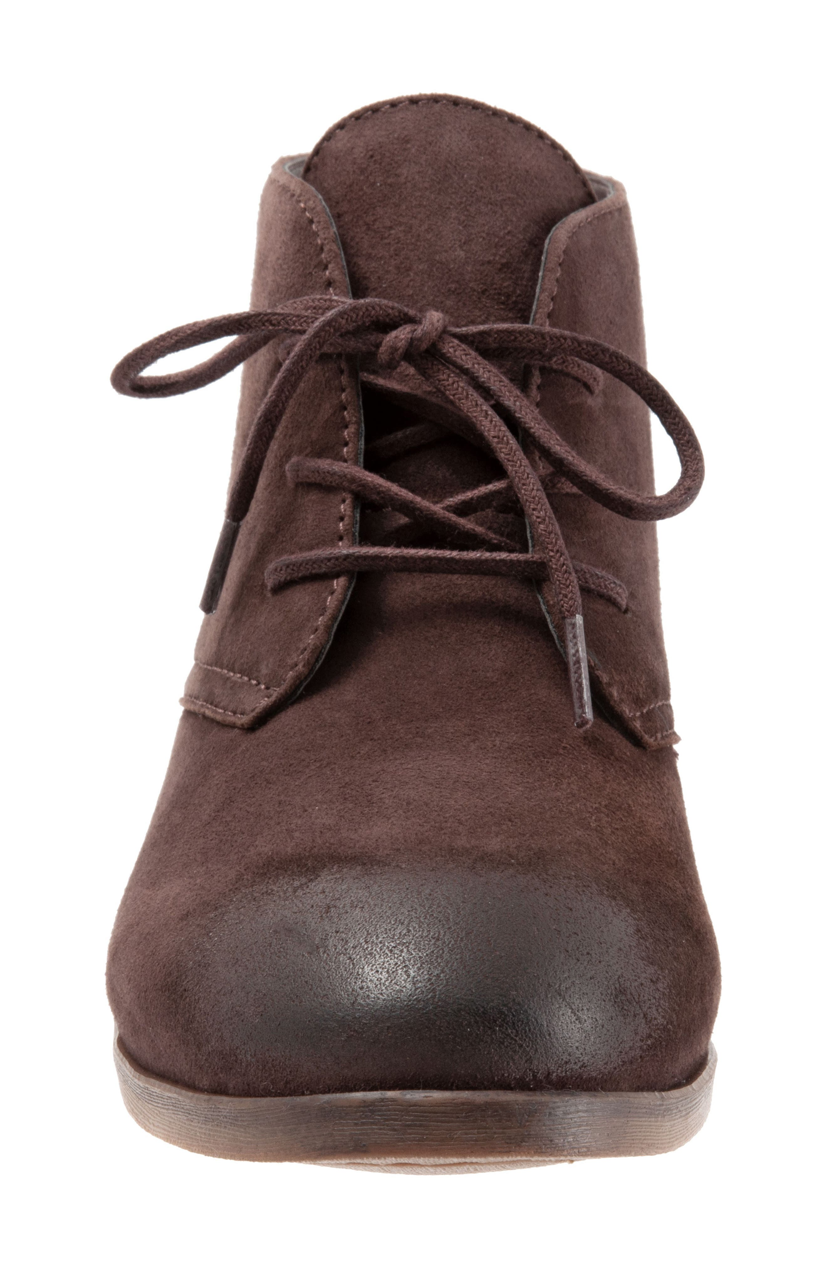 SOFTWALK<SUP>®</SUP>, Ramsey Chukka Boot, Alternate thumbnail 4, color, DARK BROWN LEATHER
