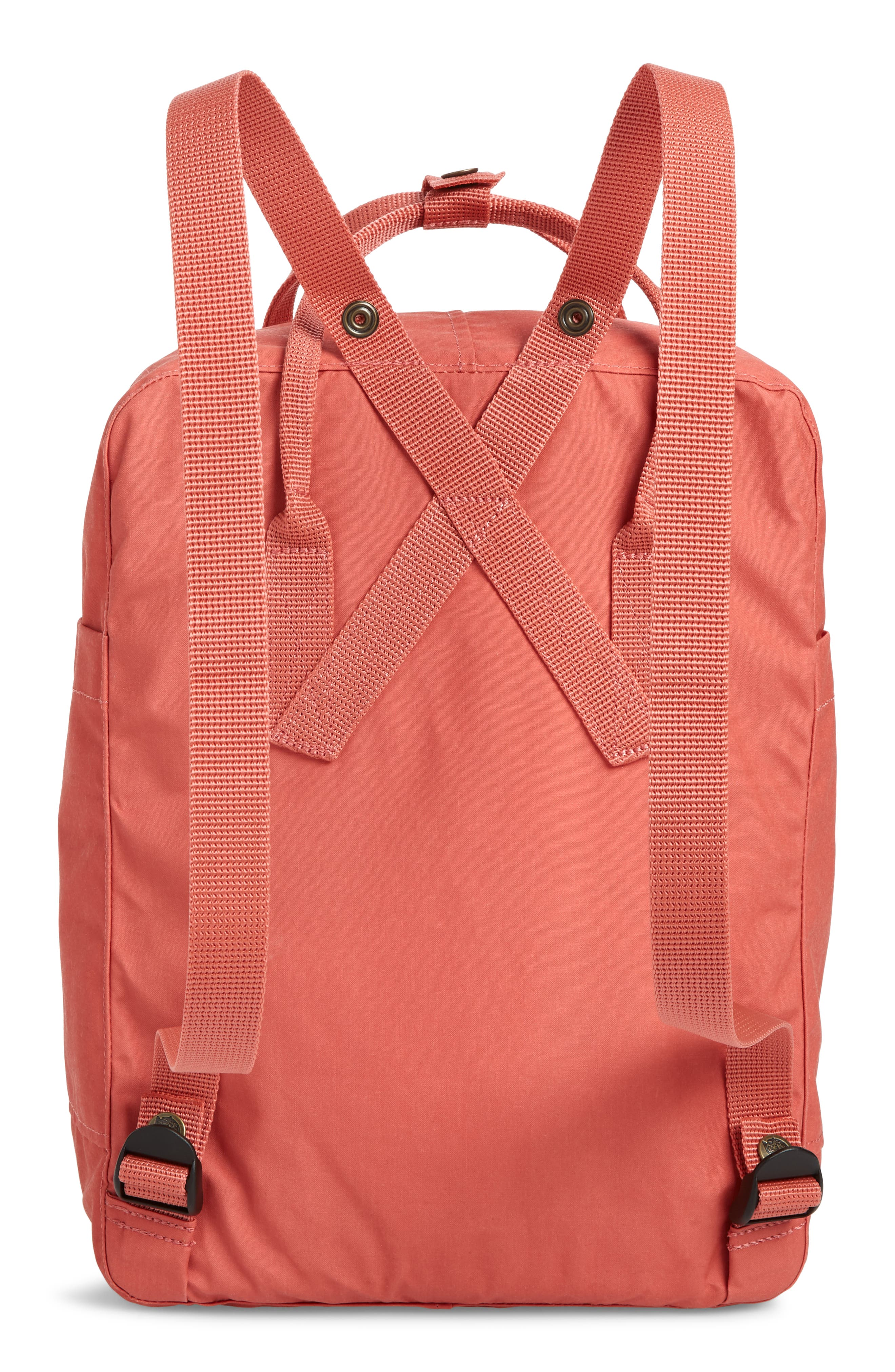 FJÄLLRÄVEN, Kånken Water Resistant Backpack, Alternate thumbnail 4, color, DAHLIA